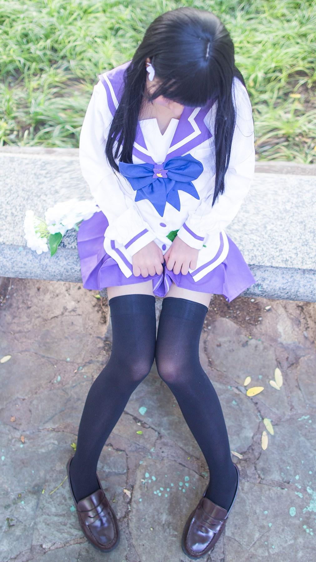 【兔玩映画】紫色水手服 兔玩映画 第47张
