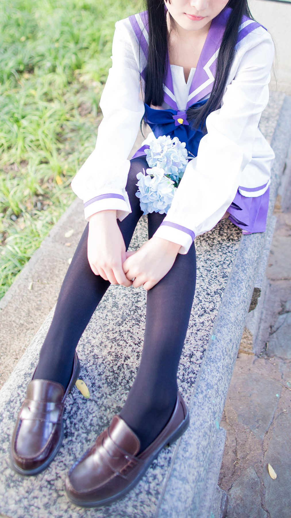 【兔玩映画】紫色水手服 兔玩映画 第35张