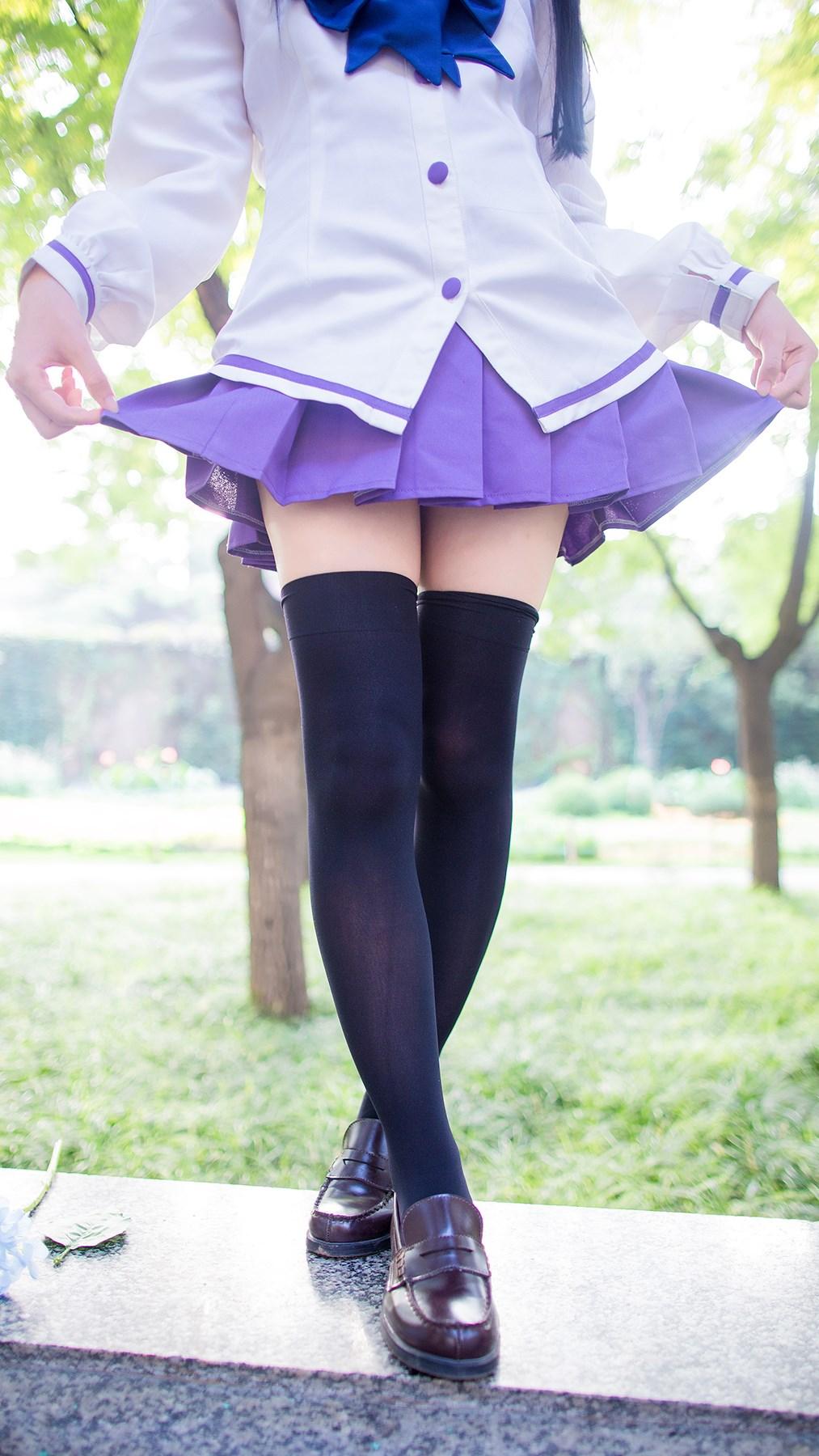 【兔玩映画】紫色水手服 兔玩映画 第17张