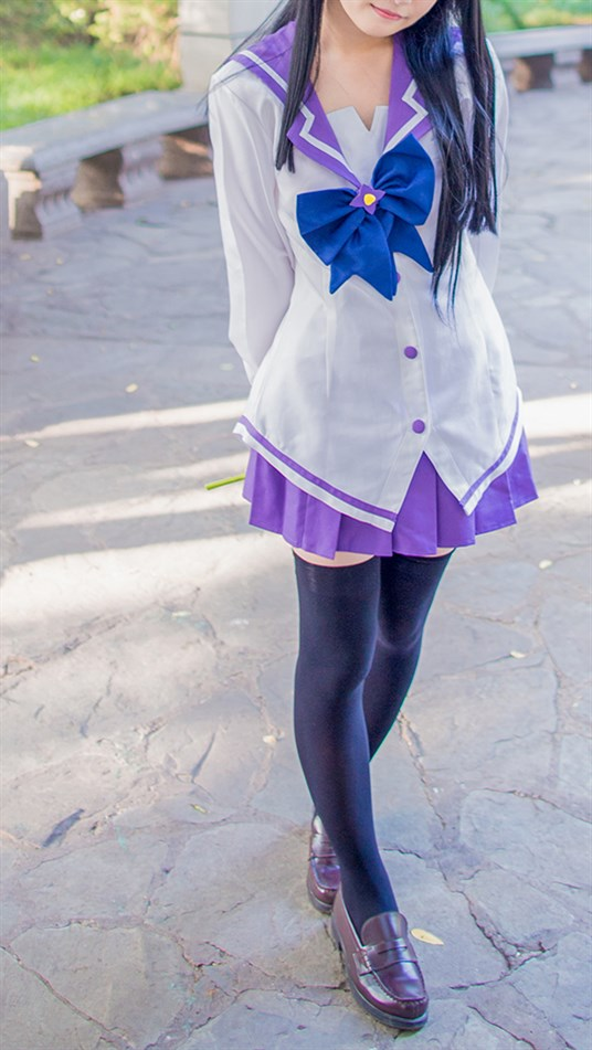 【兔玩映画】紫色水手服 兔玩映画 第6张