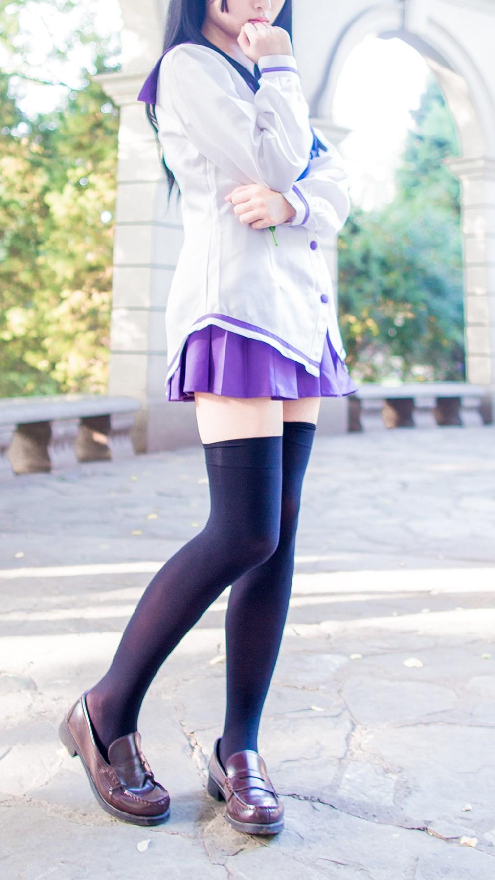 【兔玩映画】紫色水手服 兔玩映画 第1张