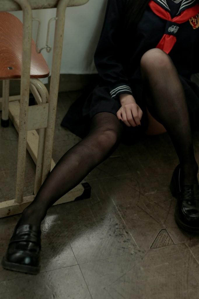 【兔玩映画】黑丝的学姐 兔玩映画 第32张