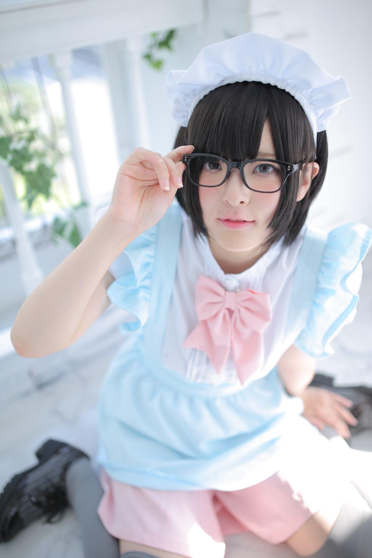 【兔玩映画】眼镜女仆 兔玩映画 第140张