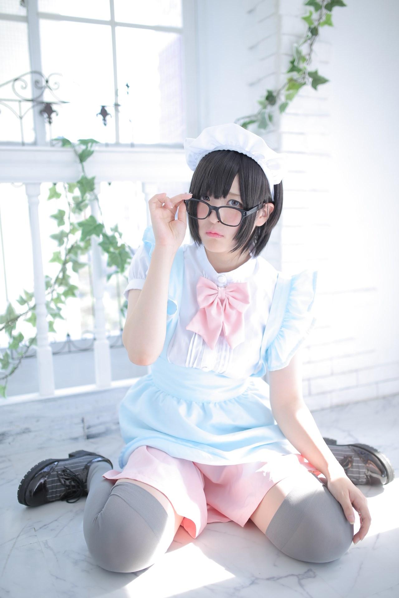 【兔玩映画】眼镜女仆 兔玩映画 第132张