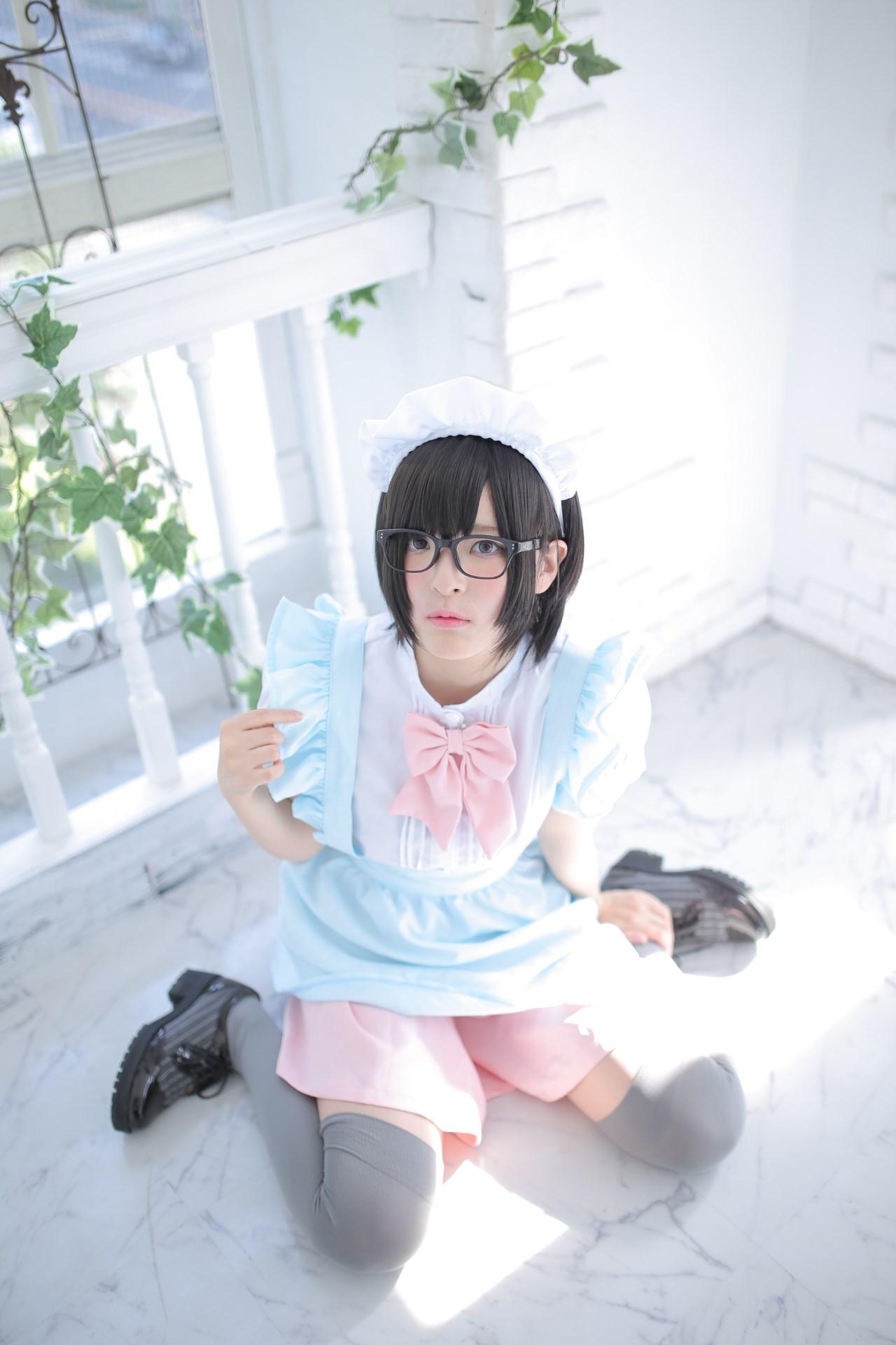 【兔玩映画】眼镜女仆 兔玩映画 第127张