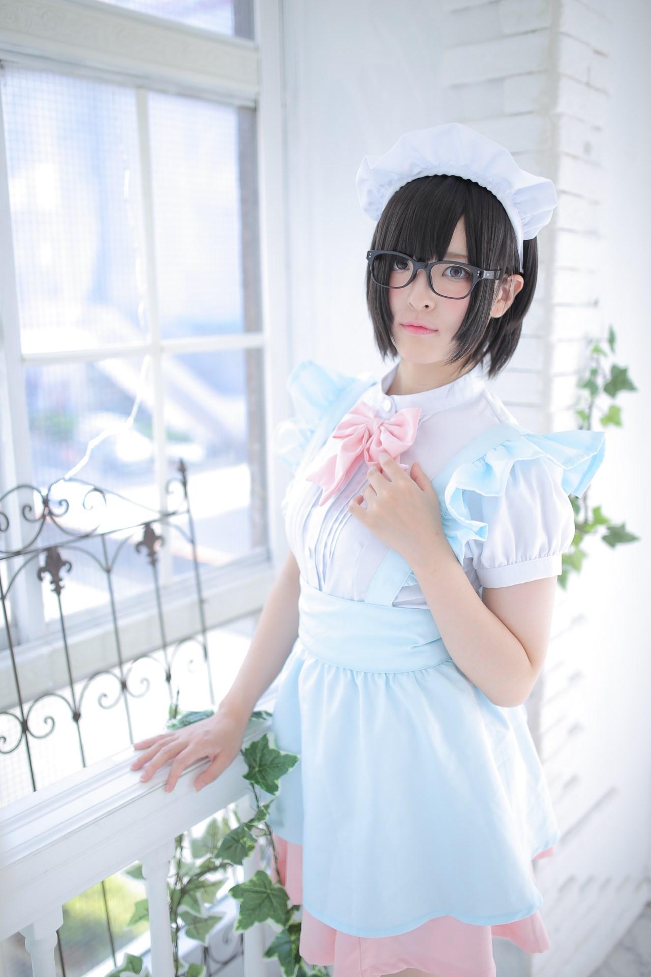 【兔玩映画】眼镜女仆 兔玩映画 第123张