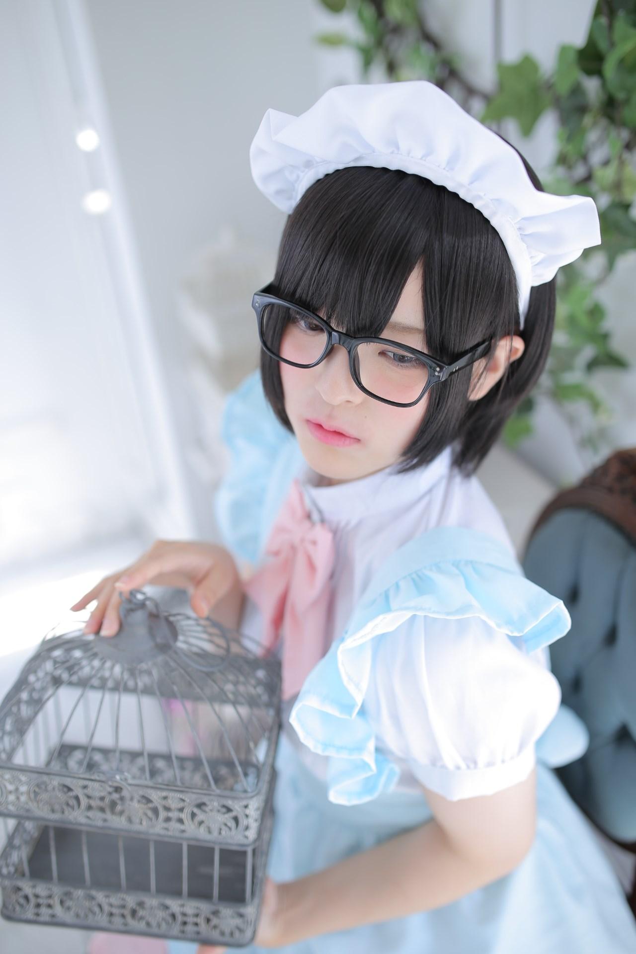 【兔玩映画】眼镜女仆 兔玩映画 第117张