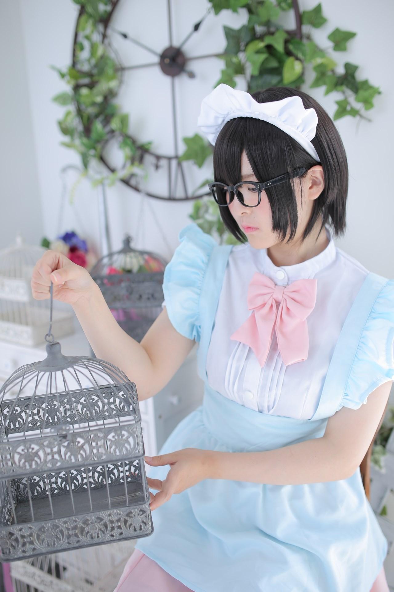【兔玩映画】眼镜女仆 兔玩映画 第112张