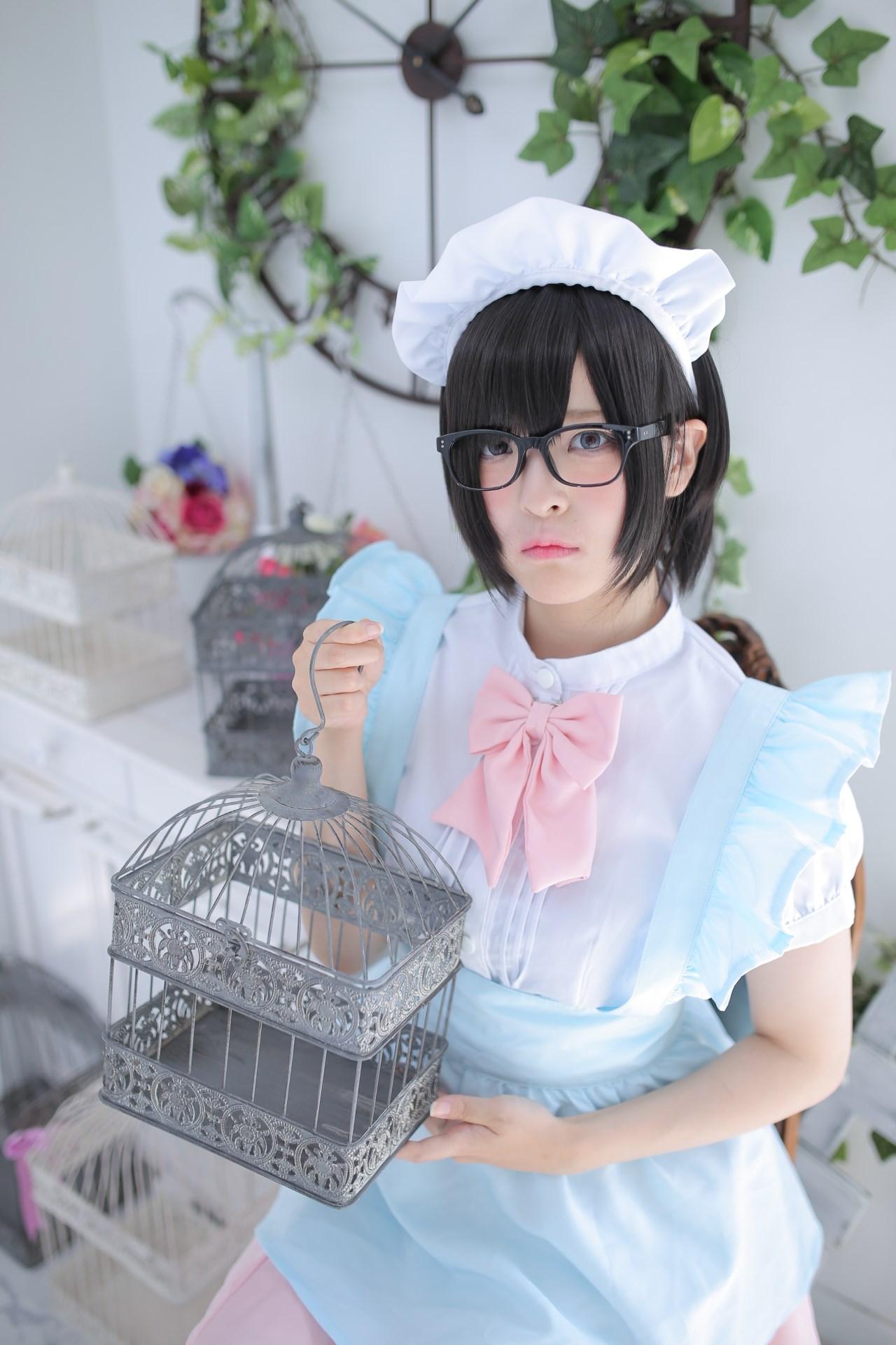 【兔玩映画】眼镜女仆 兔玩映画 第108张