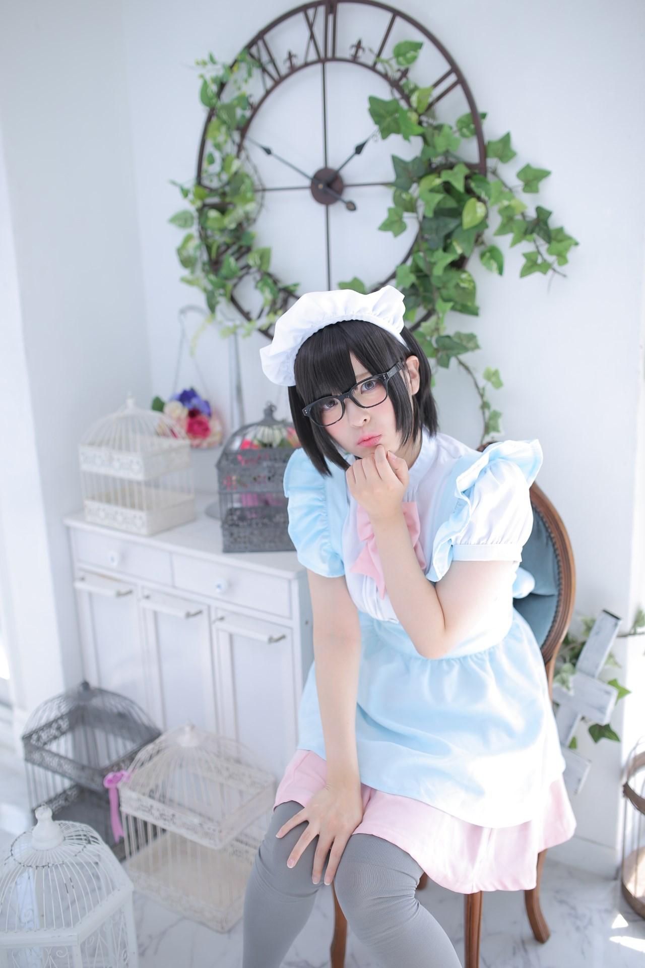 【兔玩映画】眼镜女仆 兔玩映画 第104张