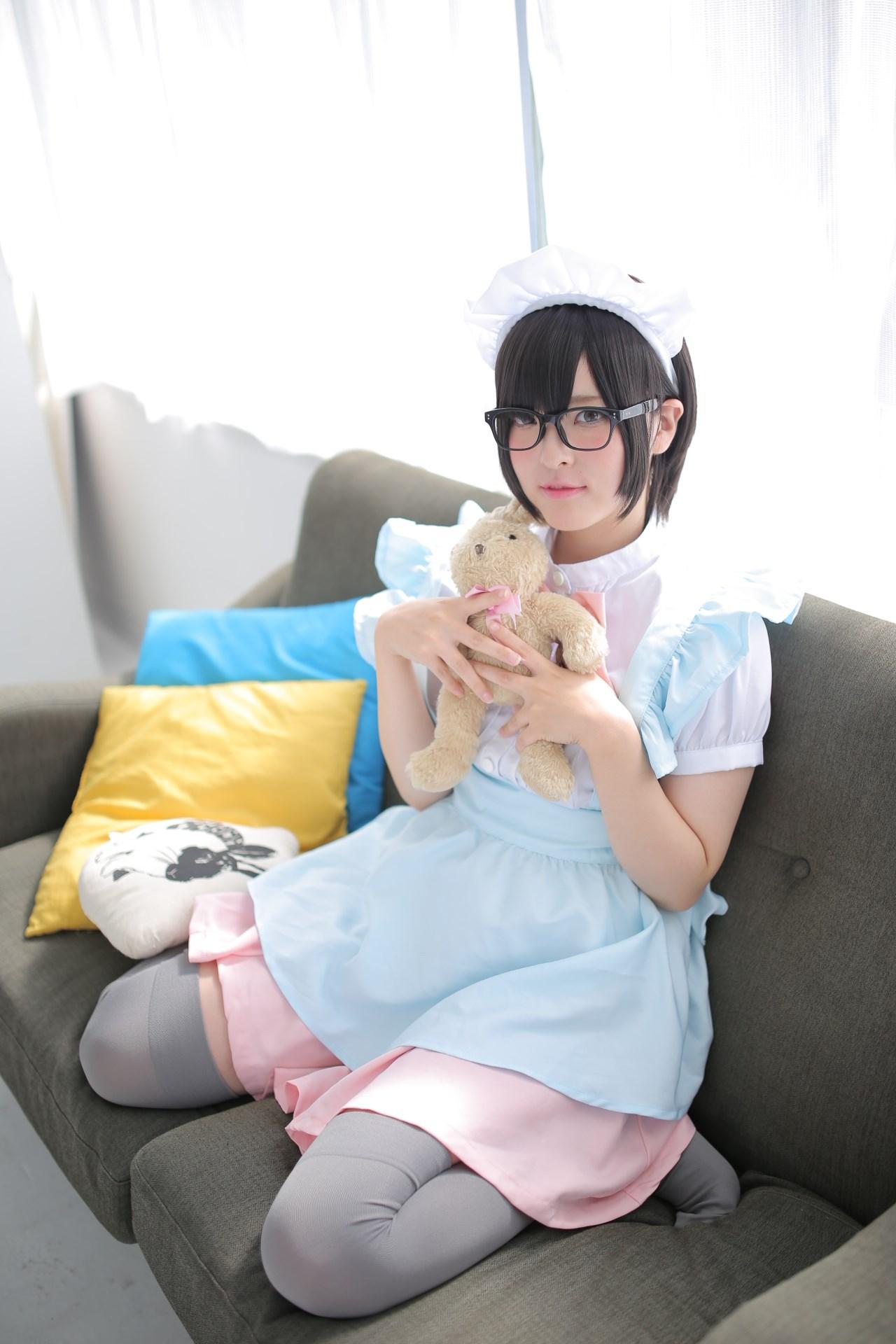 【兔玩映画】眼镜女仆 兔玩映画 第91张