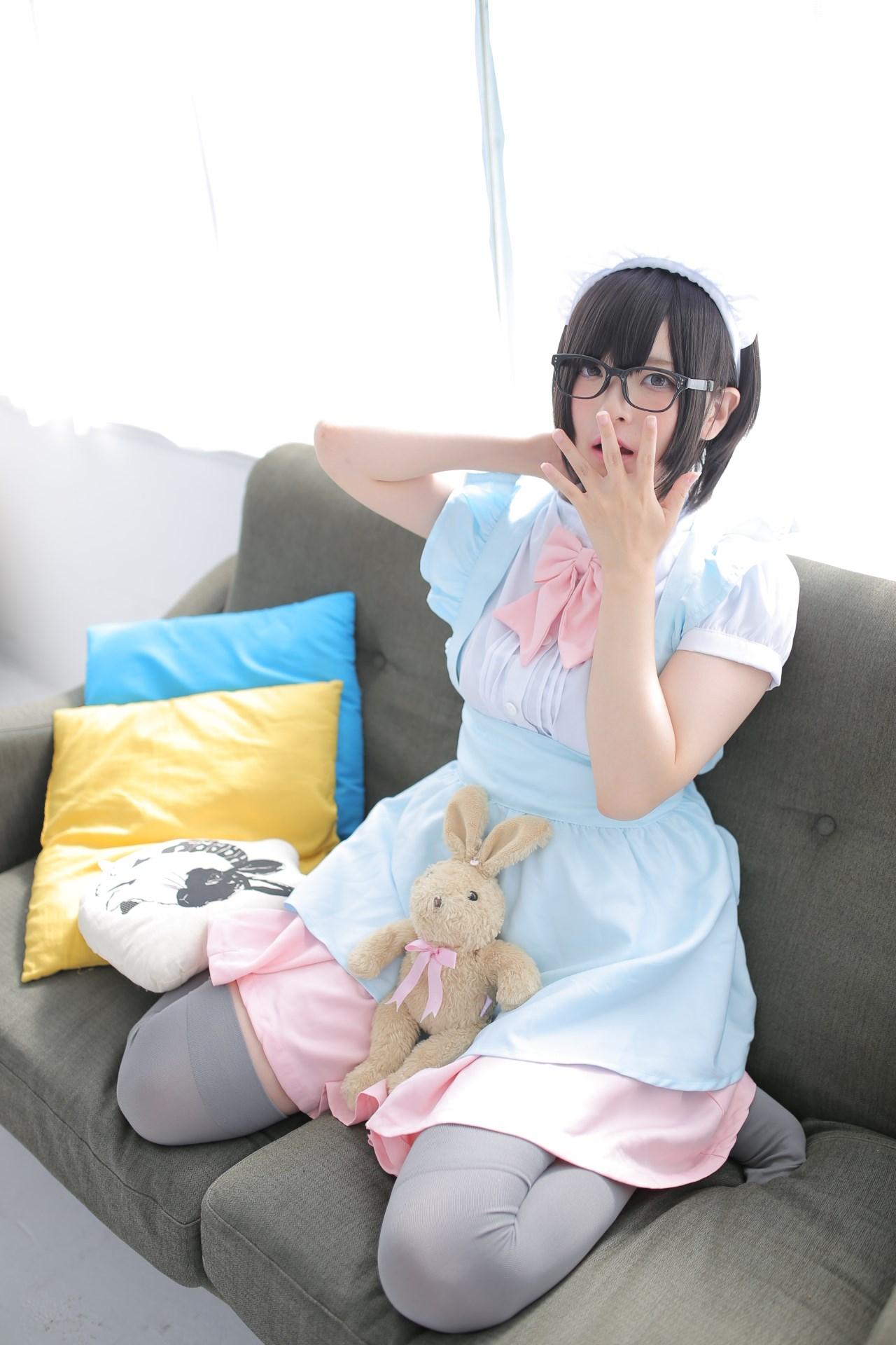 【兔玩映画】眼镜女仆 兔玩映画 第85张