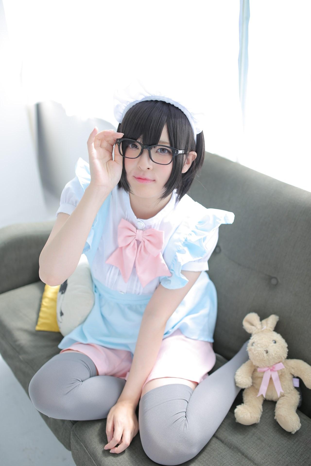 【兔玩映画】眼镜女仆 兔玩映画 第82张