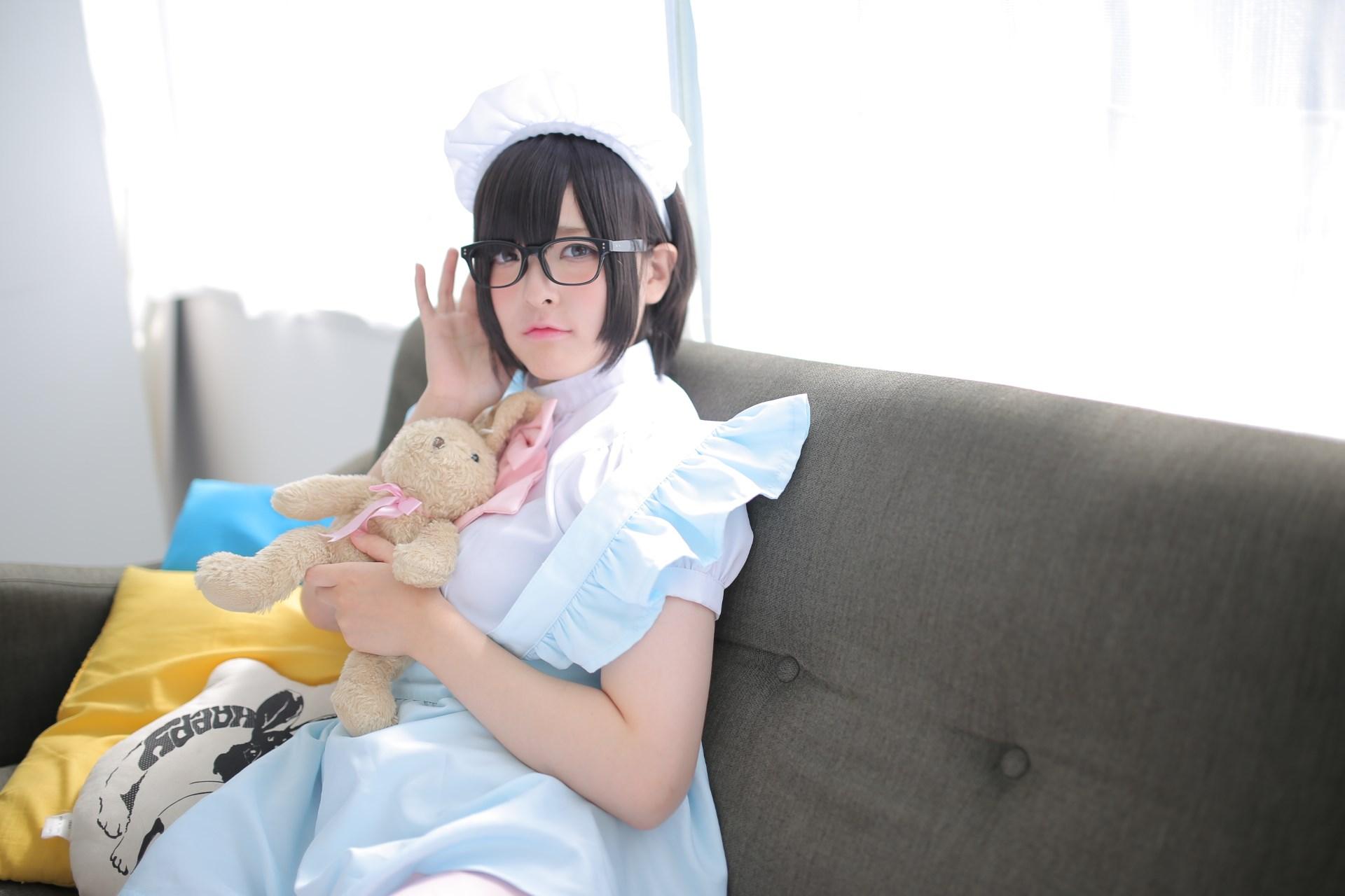 【兔玩映画】眼镜女仆 兔玩映画 第79张