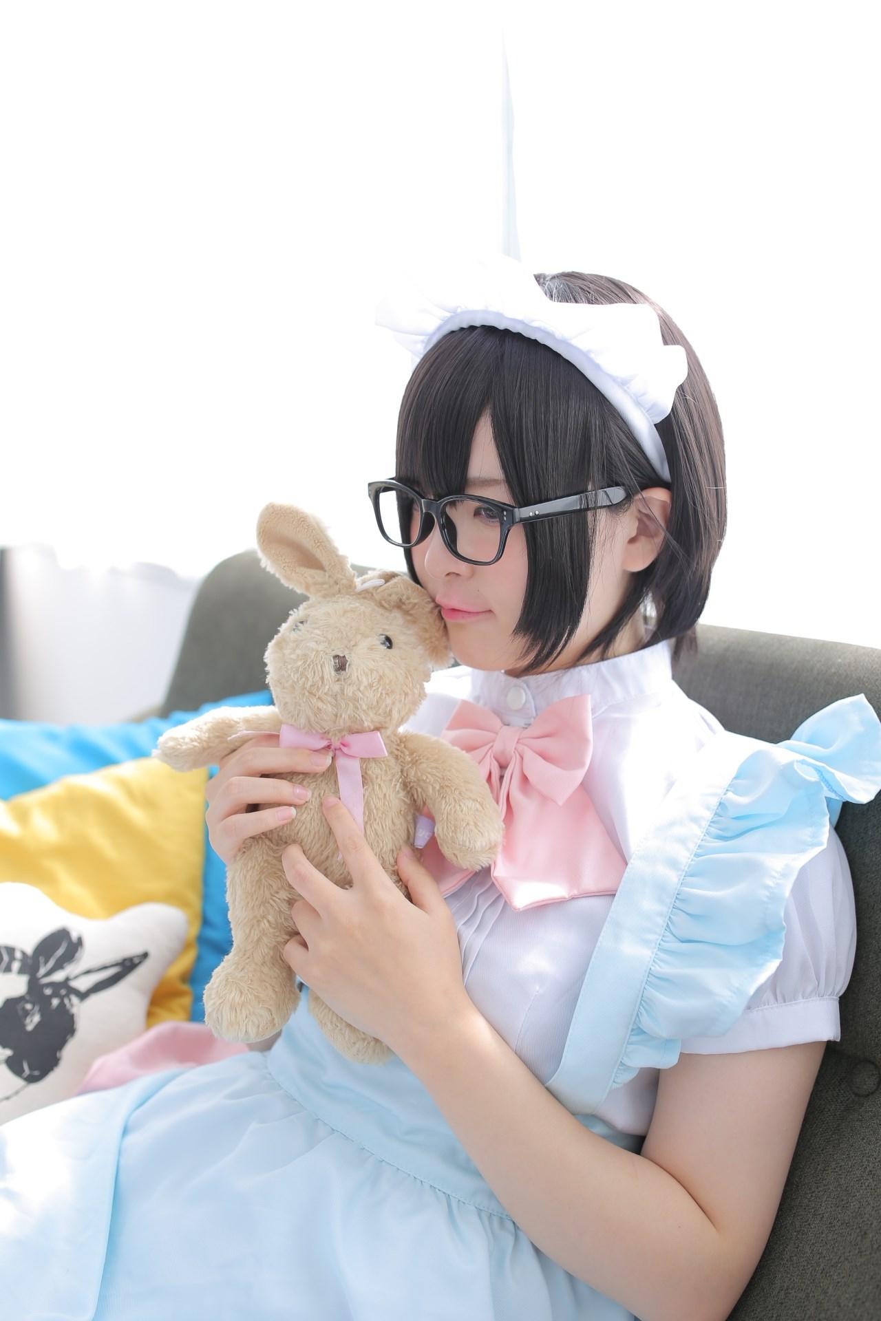 【兔玩映画】眼镜女仆 兔玩映画 第77张