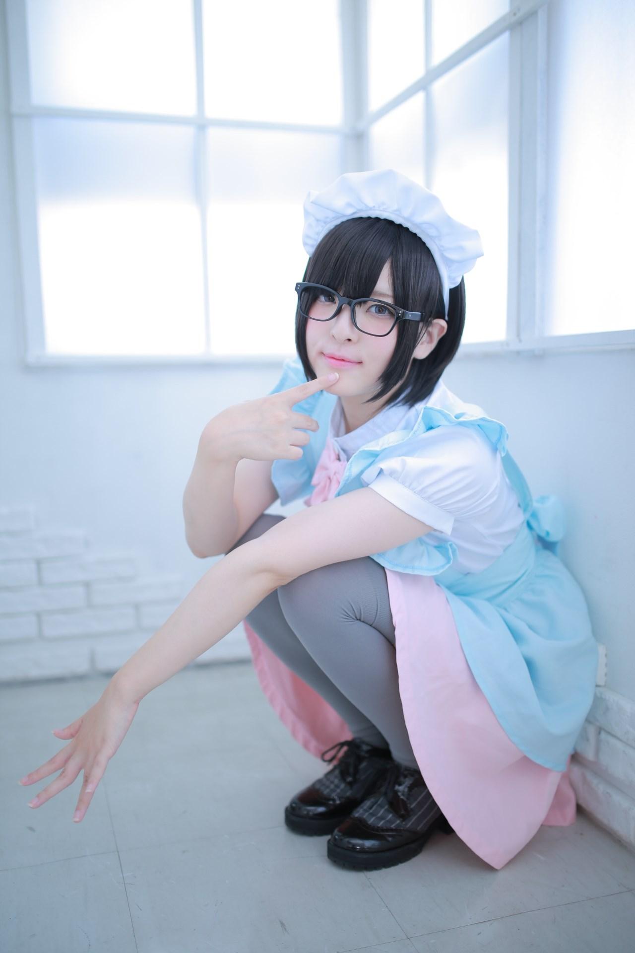 【兔玩映画】眼镜女仆 兔玩映画 第75张