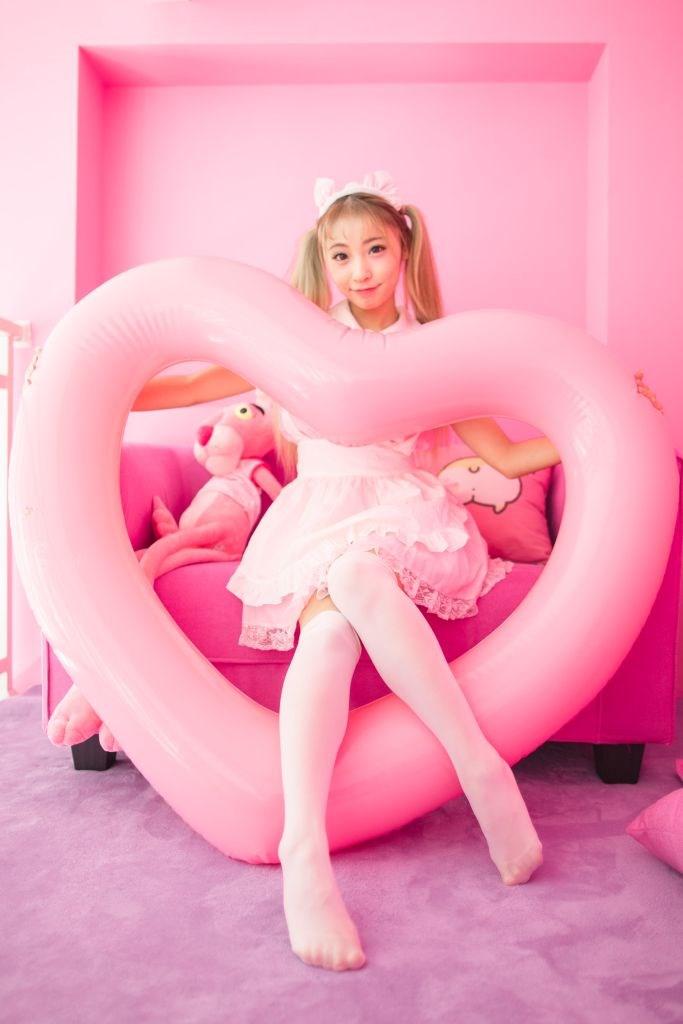 【兔玩映画】粉粉的女仆 兔玩映画 第36张