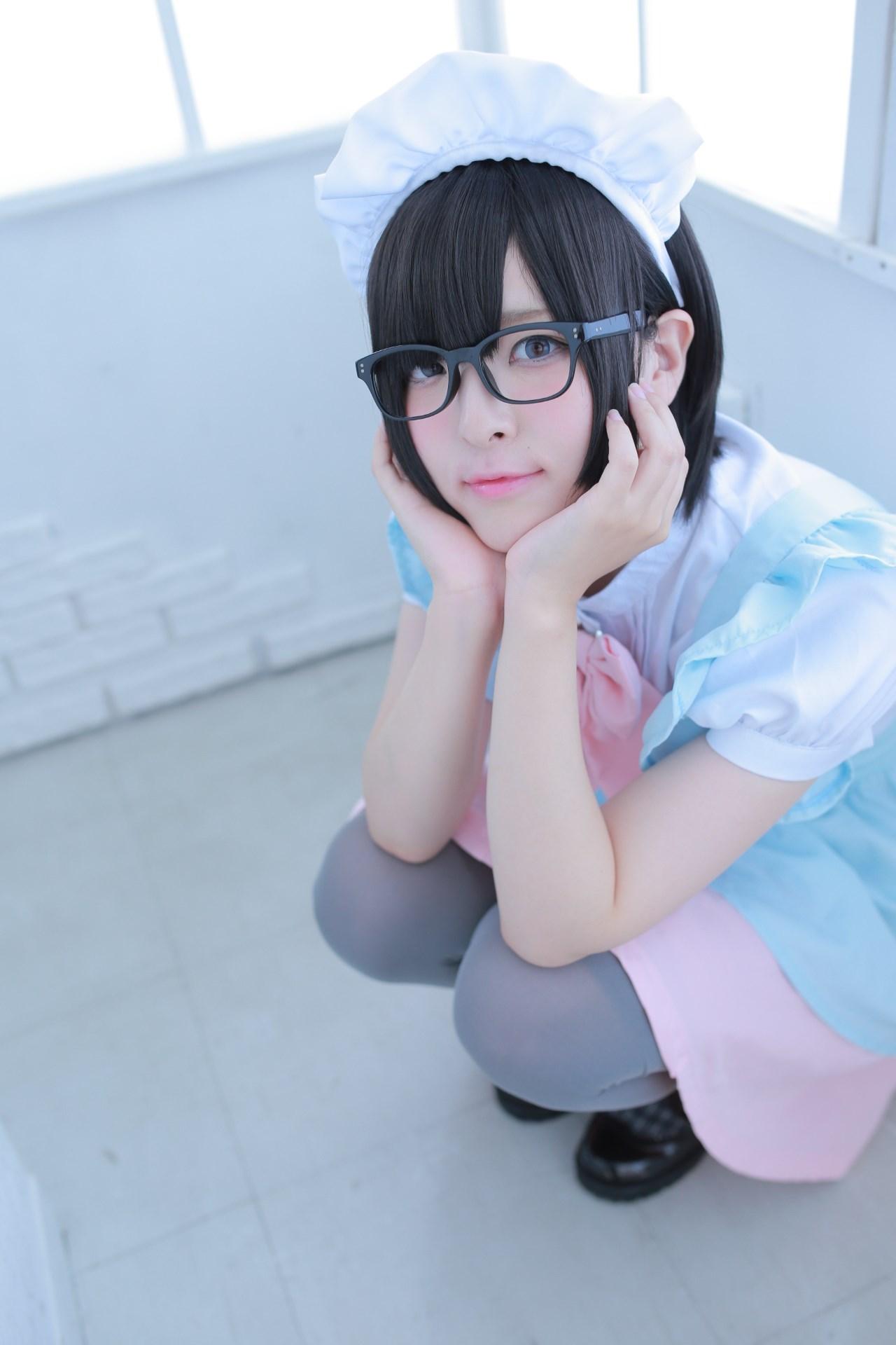 【兔玩映画】眼镜女仆 兔玩映画 第70张