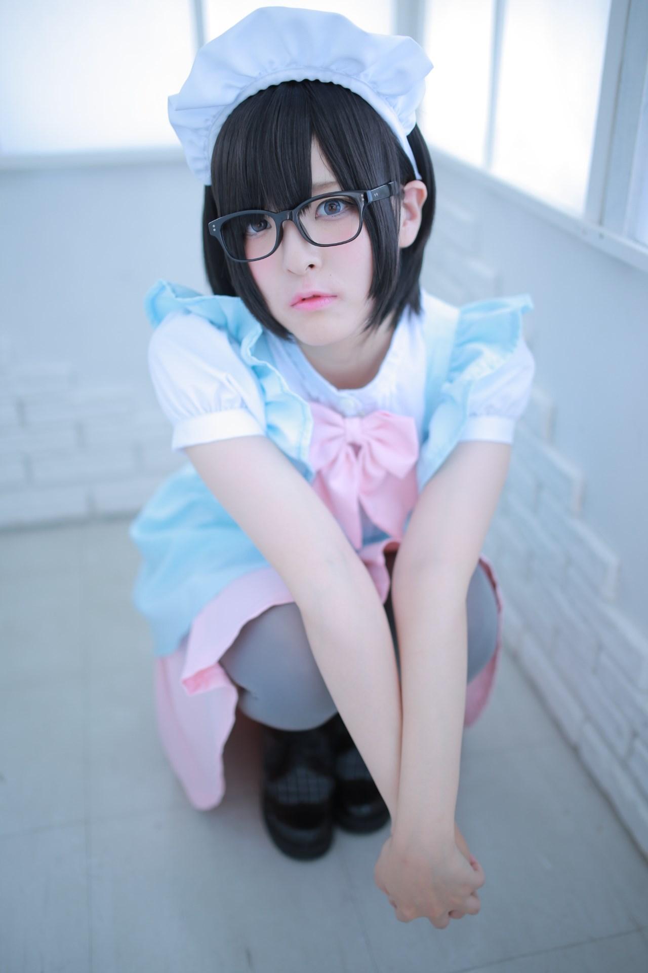 【兔玩映画】眼镜女仆 兔玩映画 第66张