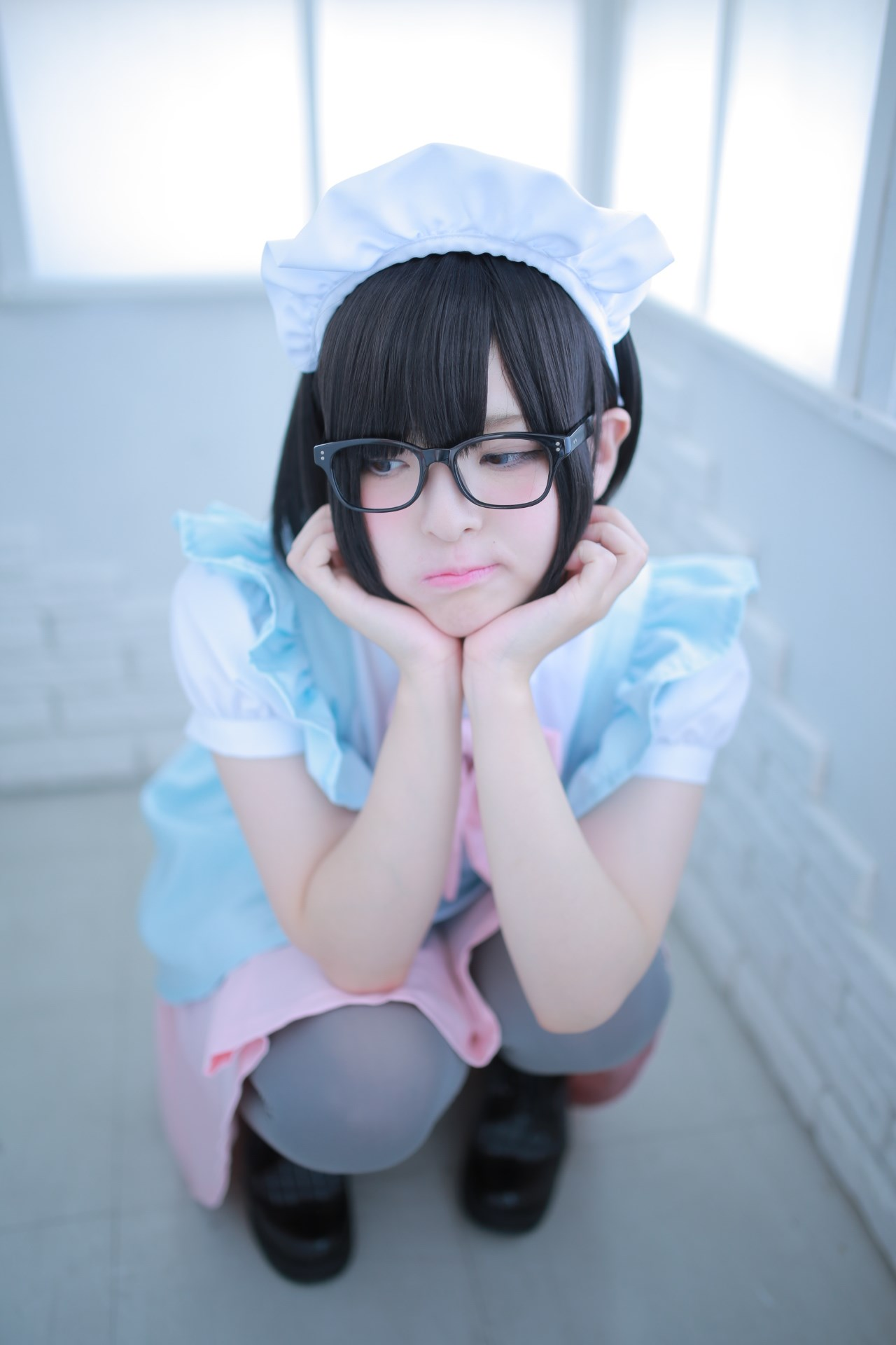 【兔玩映画】眼镜女仆 兔玩映画 第65张