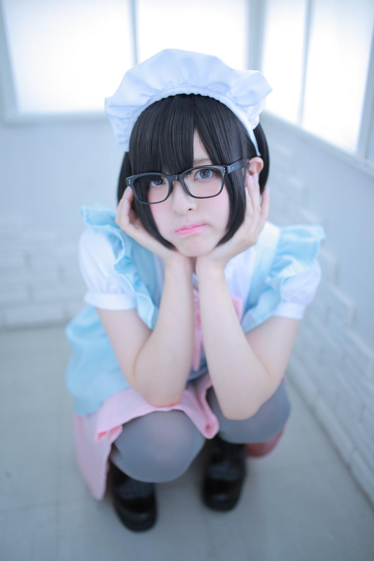 【兔玩映画】眼镜女仆 兔玩映画 第64张