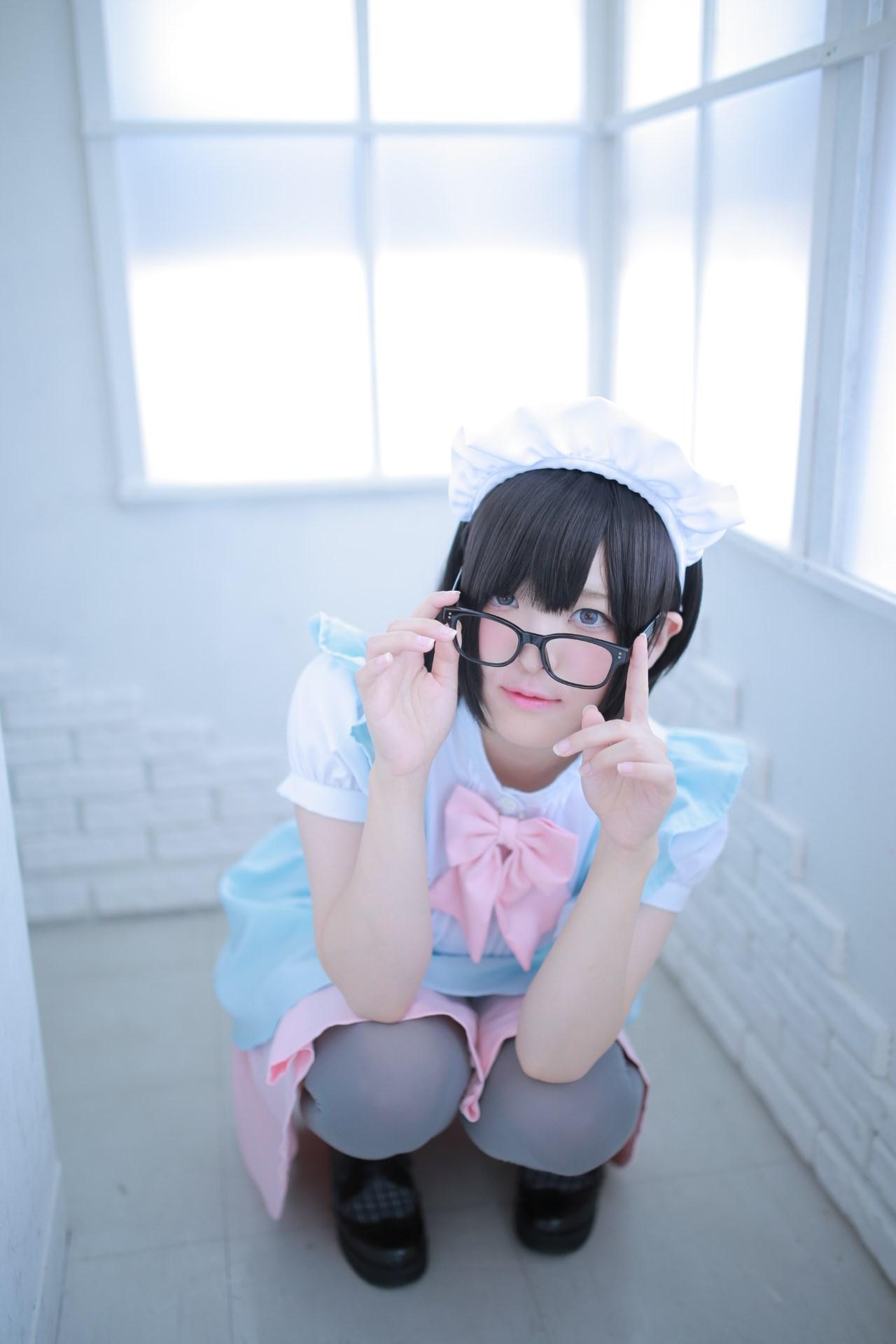 【兔玩映画】眼镜女仆 兔玩映画 第63张