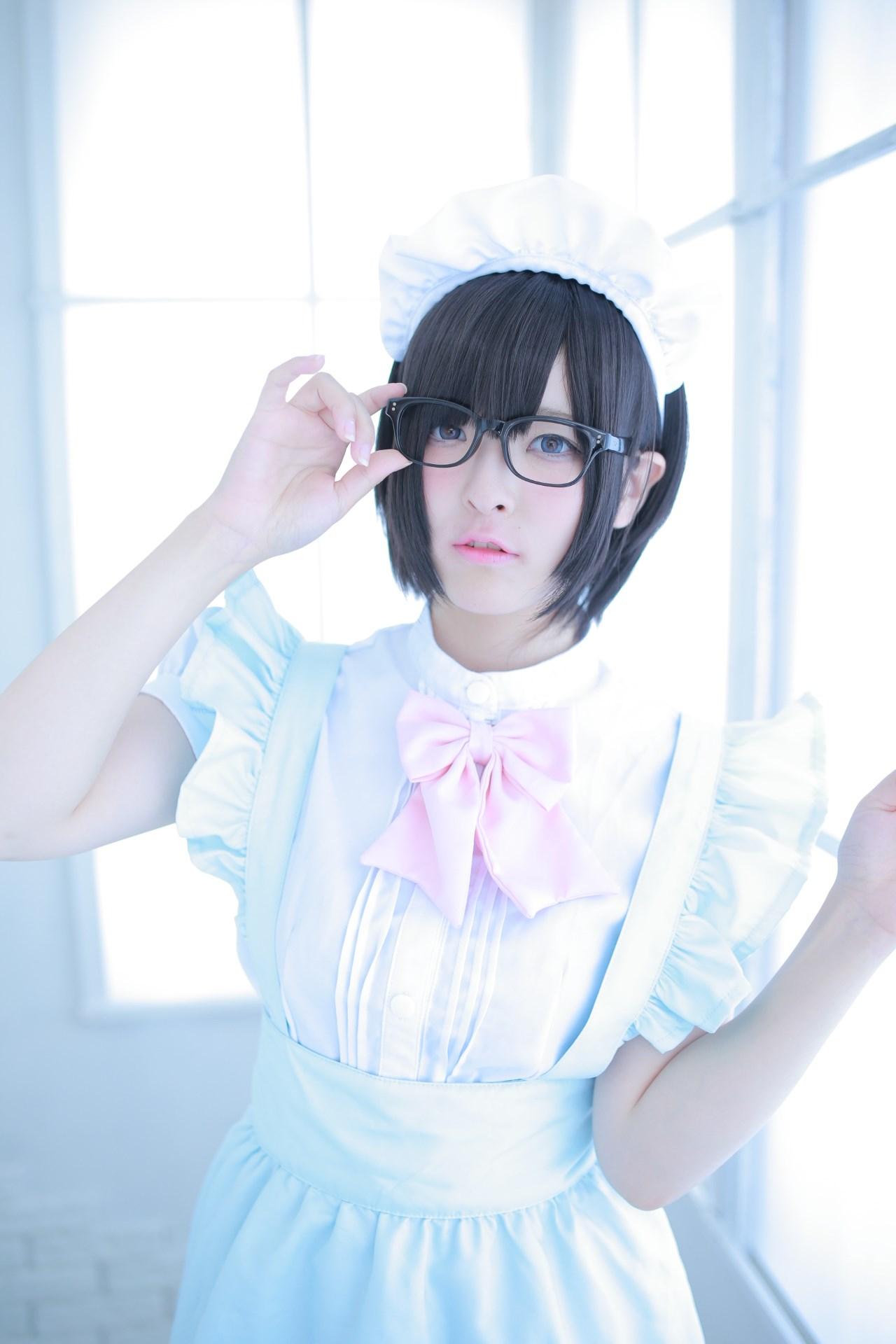 【兔玩映画】眼镜女仆 兔玩映画 第61张