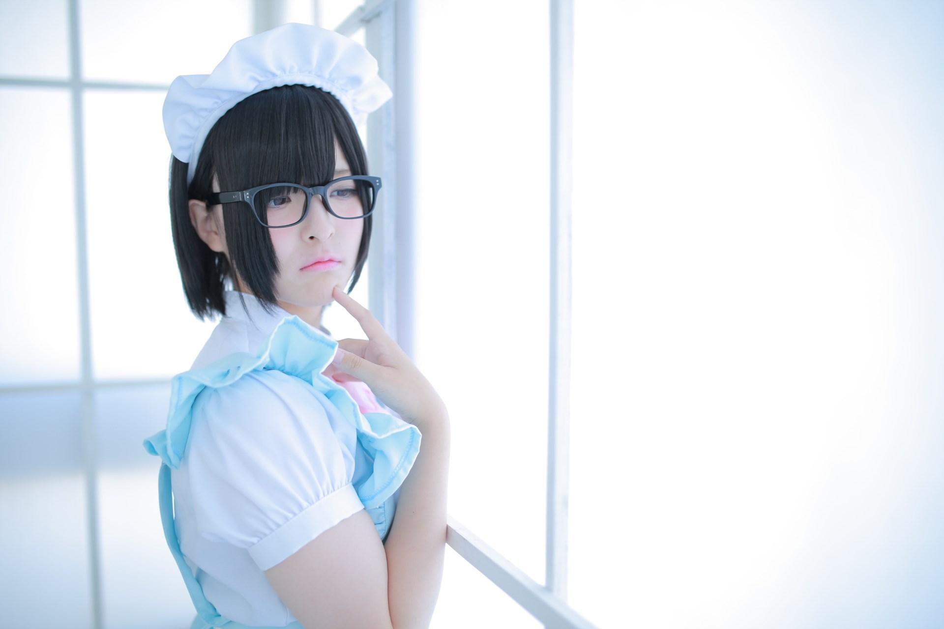 【兔玩映画】眼镜女仆 兔玩映画 第59张