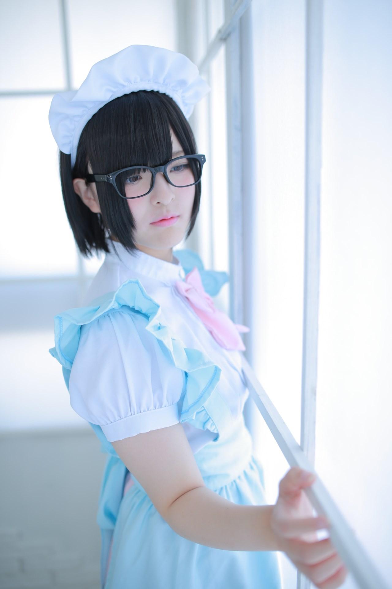 【兔玩映画】眼镜女仆 兔玩映画 第57张