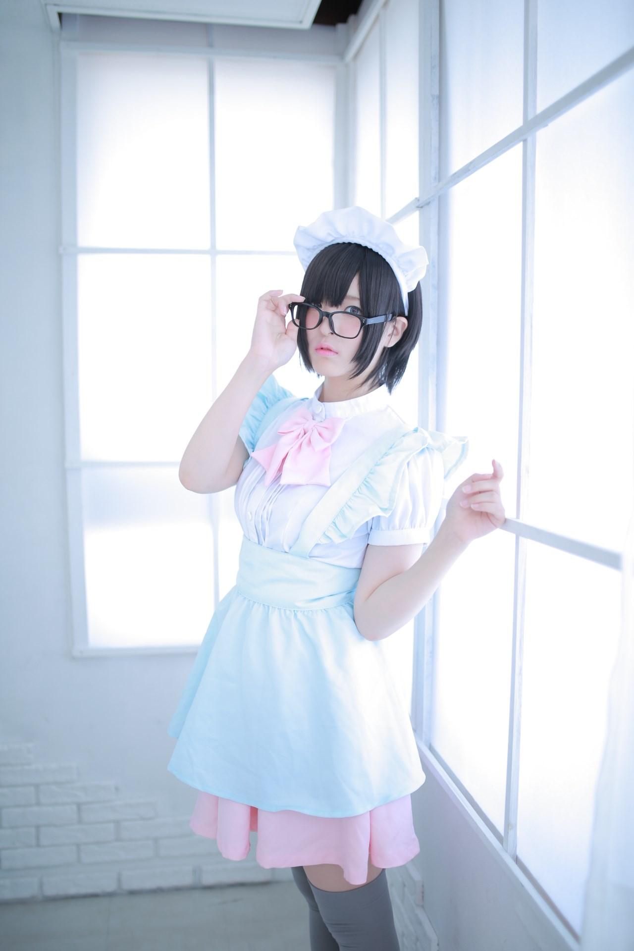 【兔玩映画】眼镜女仆 兔玩映画 第54张