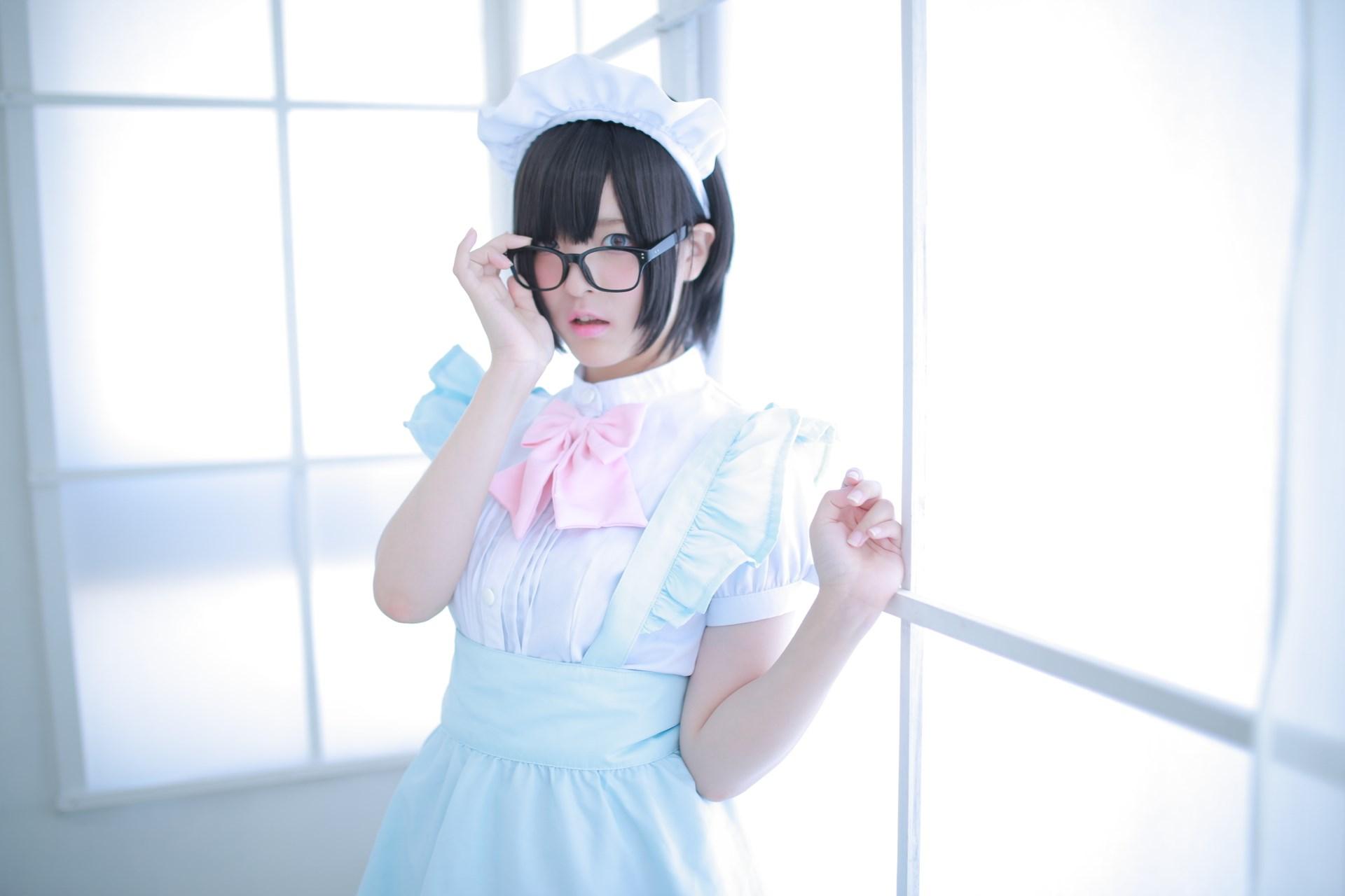 【兔玩映画】眼镜女仆 兔玩映画 第53张
