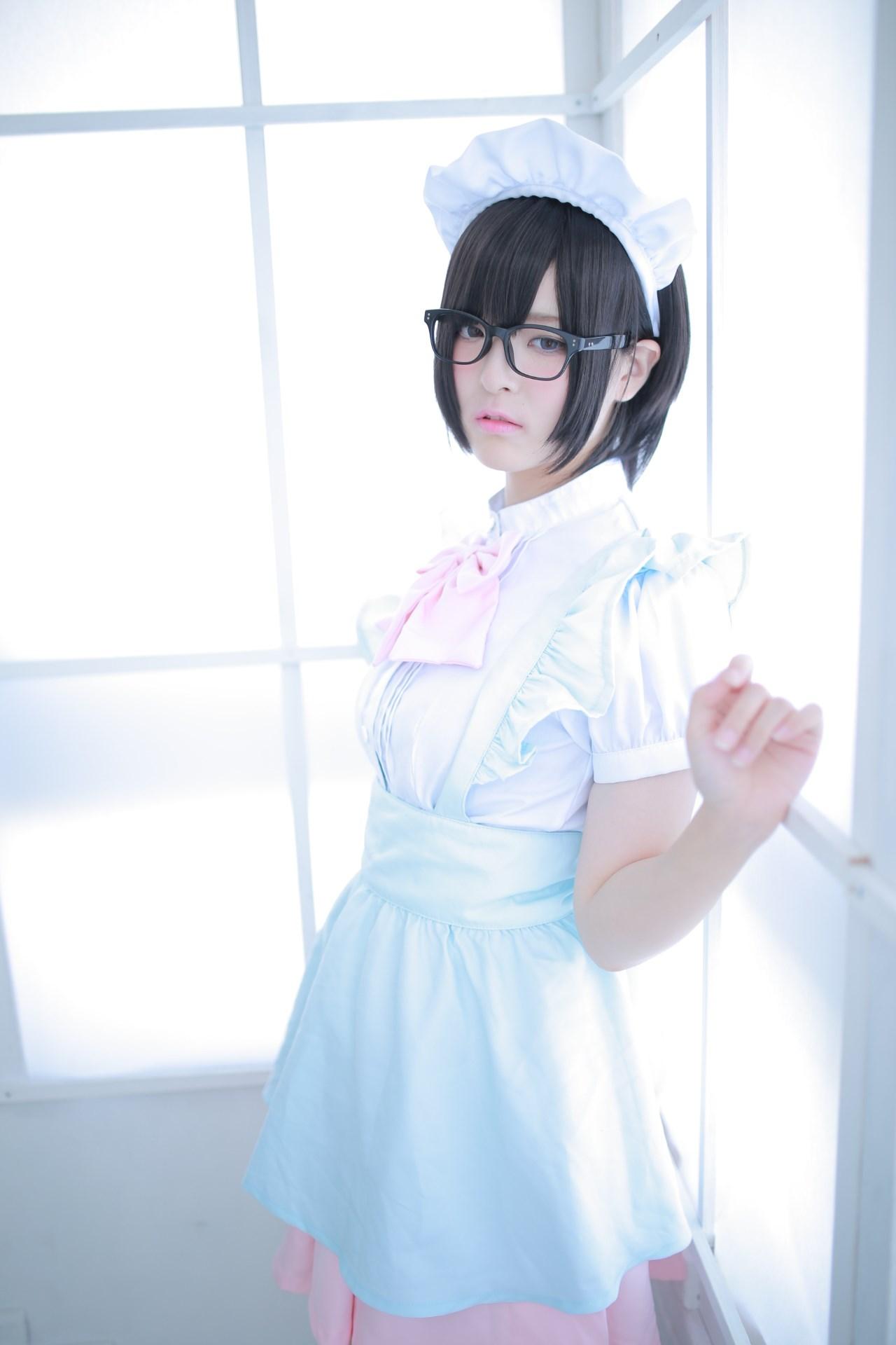 【兔玩映画】眼镜女仆 兔玩映画 第51张