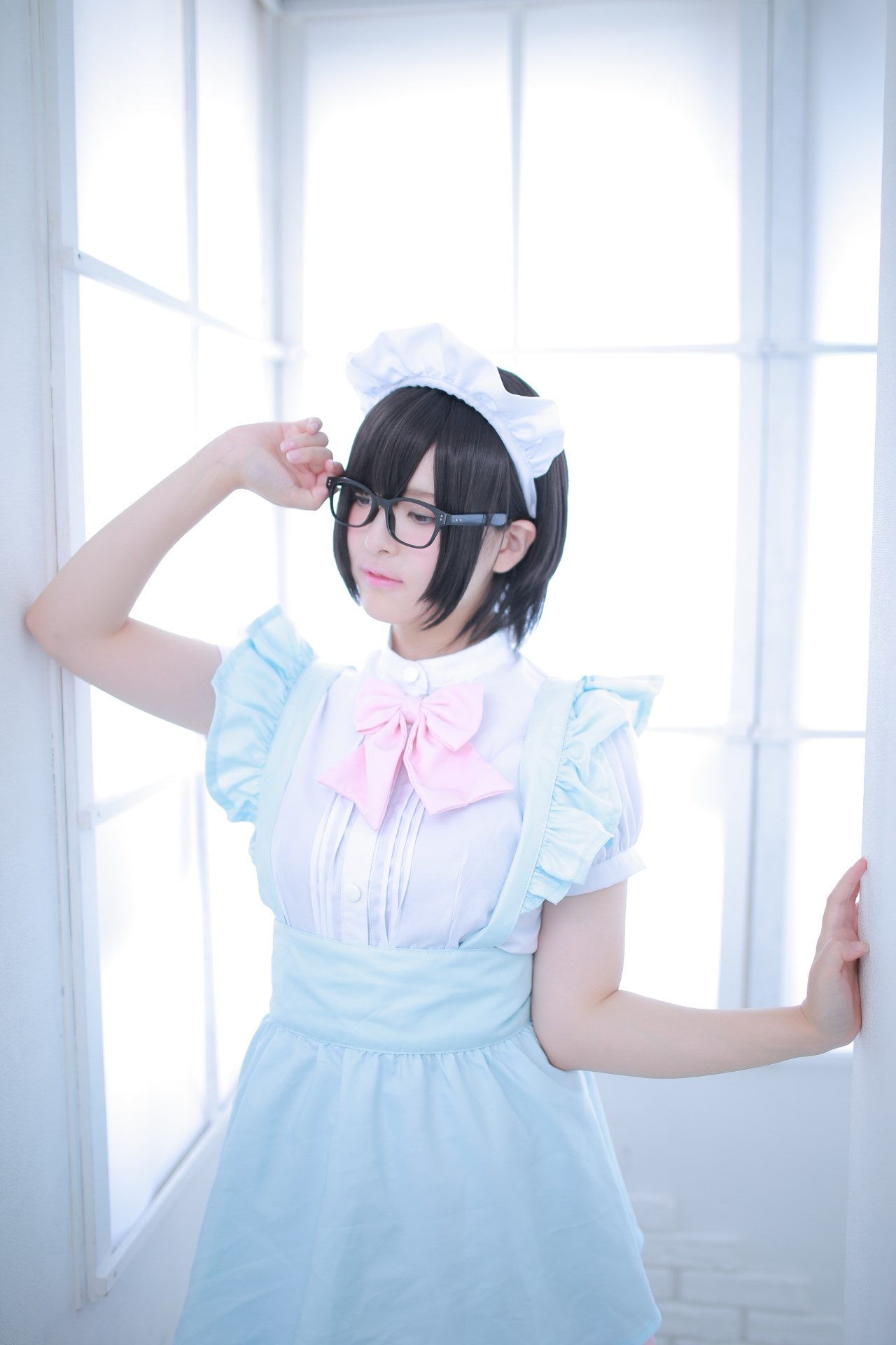 【兔玩映画】眼镜女仆 兔玩映画 第49张