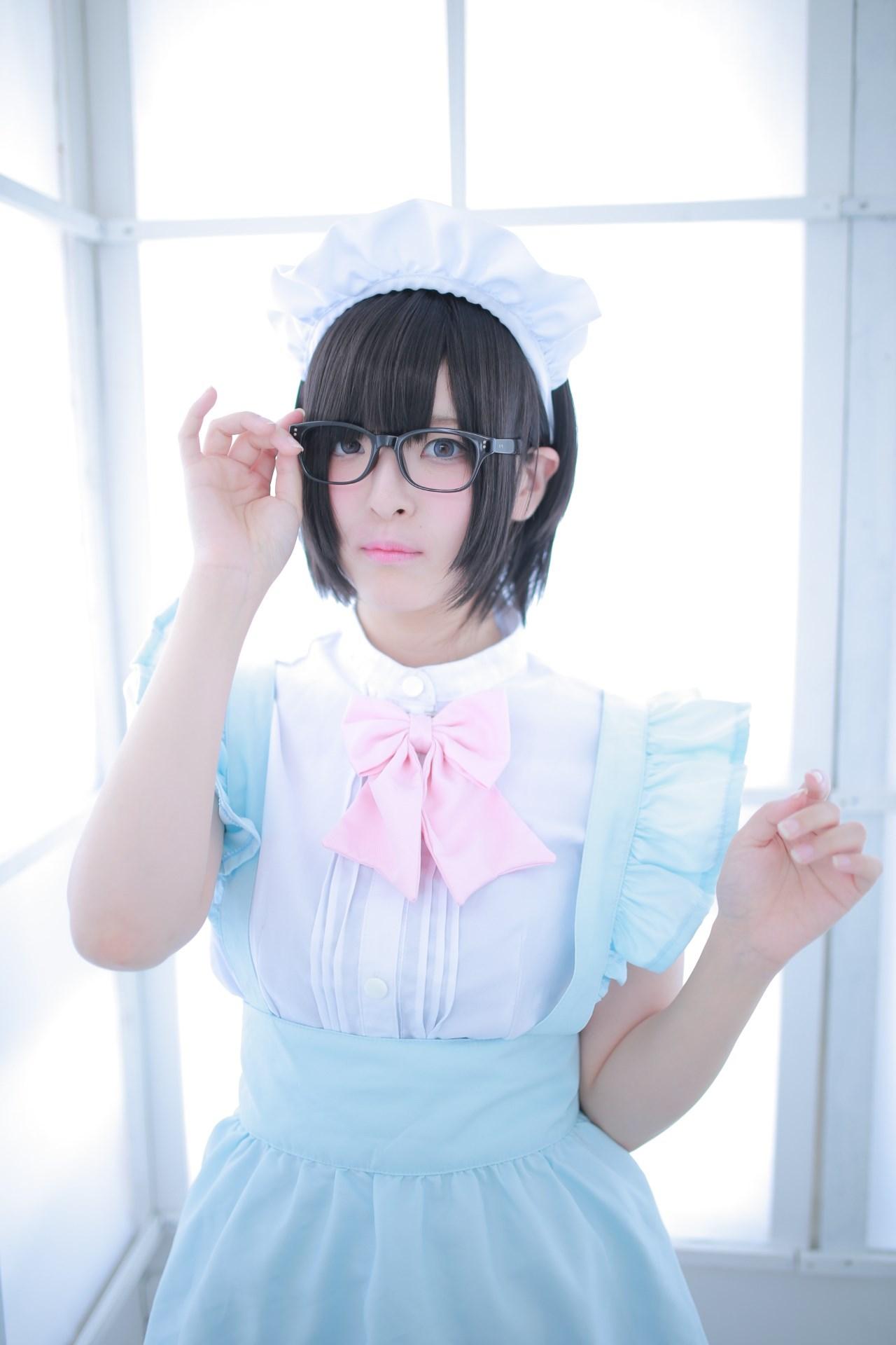 【兔玩映画】眼镜女仆 兔玩映画 第46张