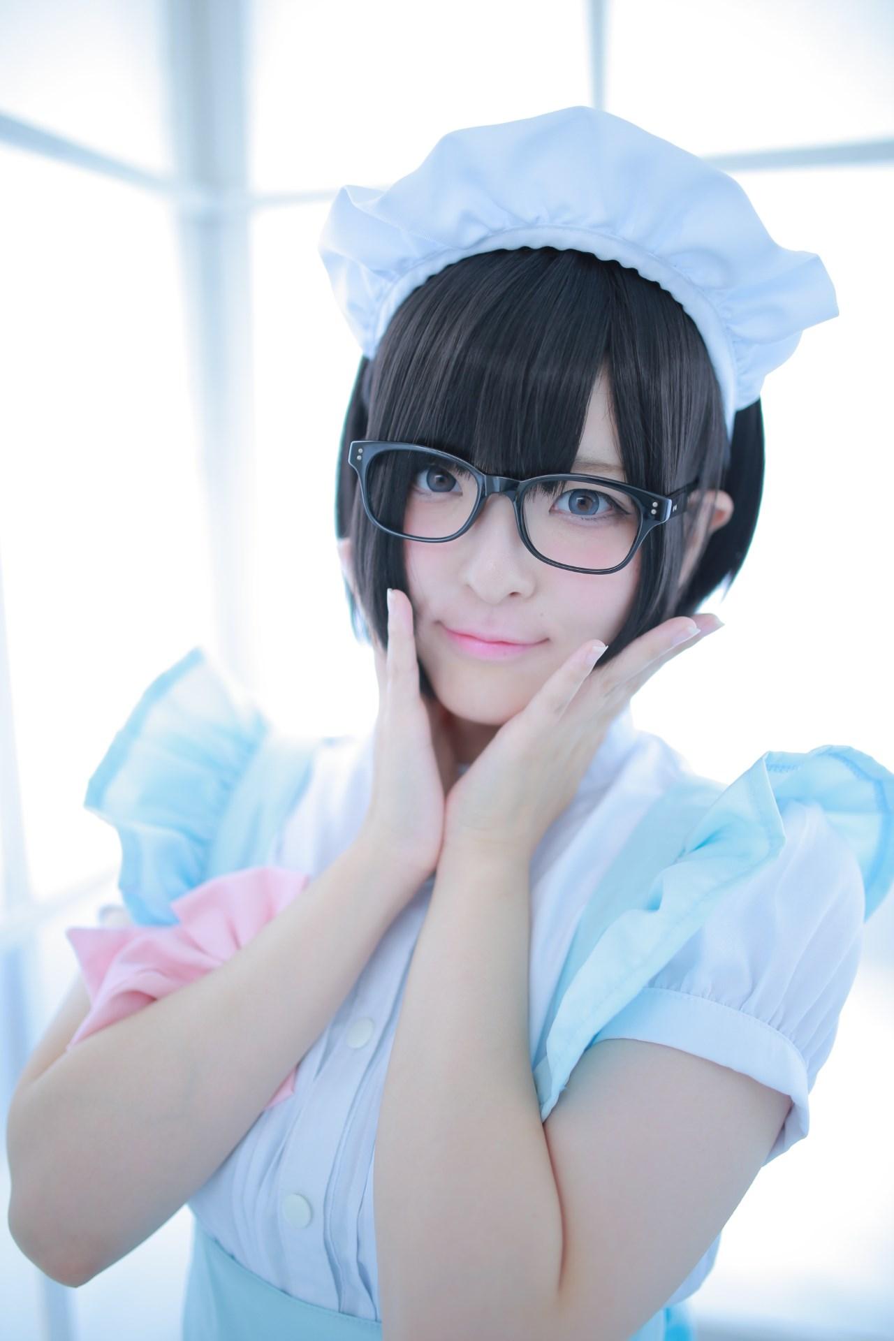 【兔玩映画】眼镜女仆 兔玩映画 第45张