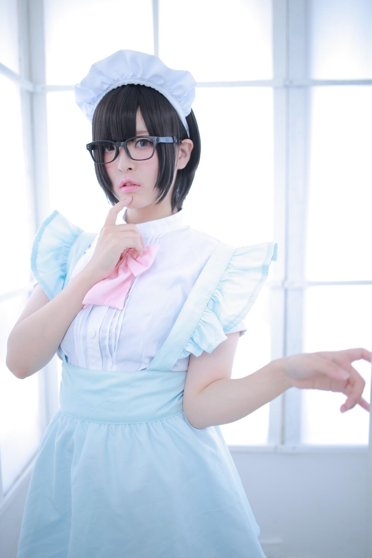 【兔玩映画】眼镜女仆 兔玩映画 第44张