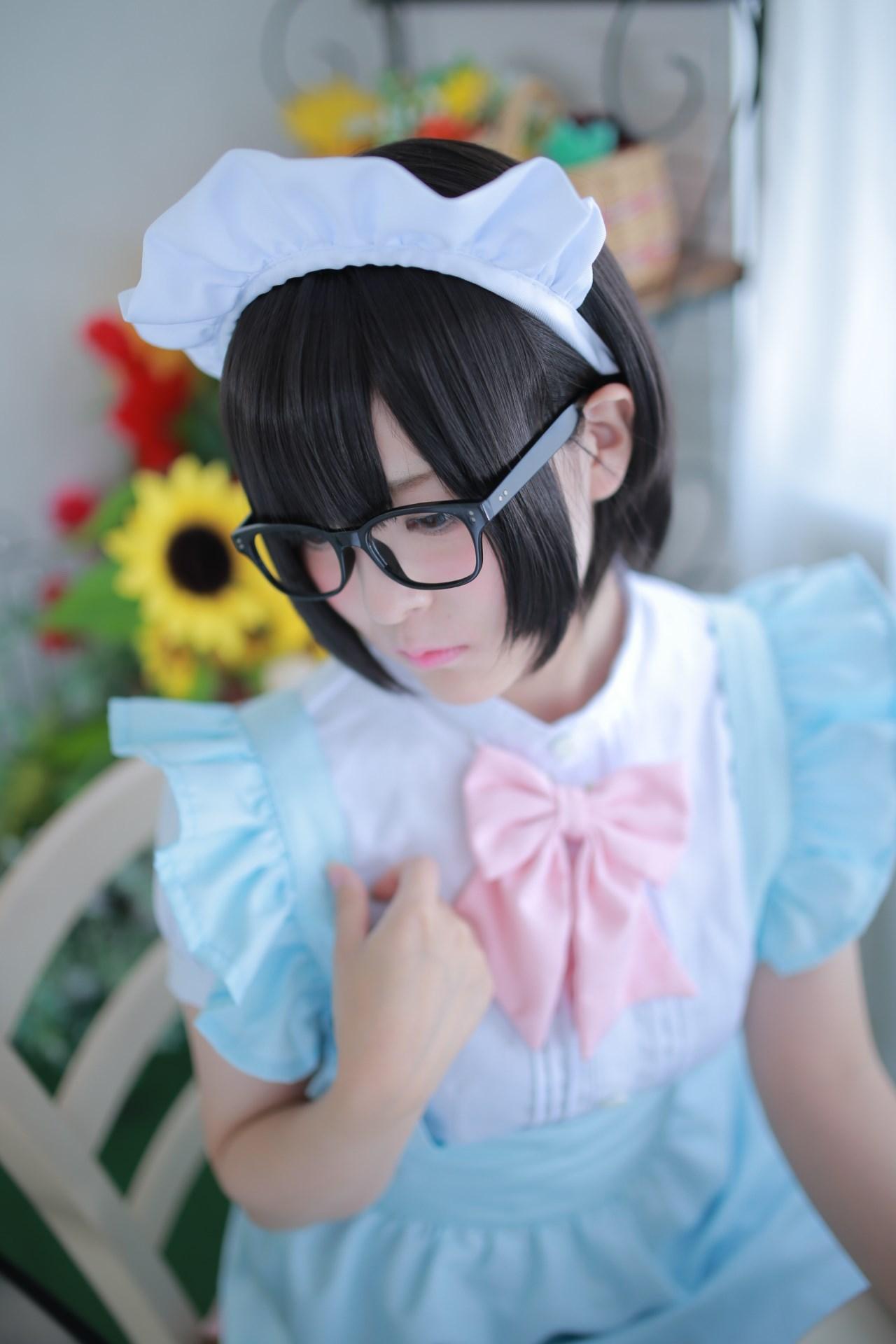 【兔玩映画】眼镜女仆 兔玩映画 第37张