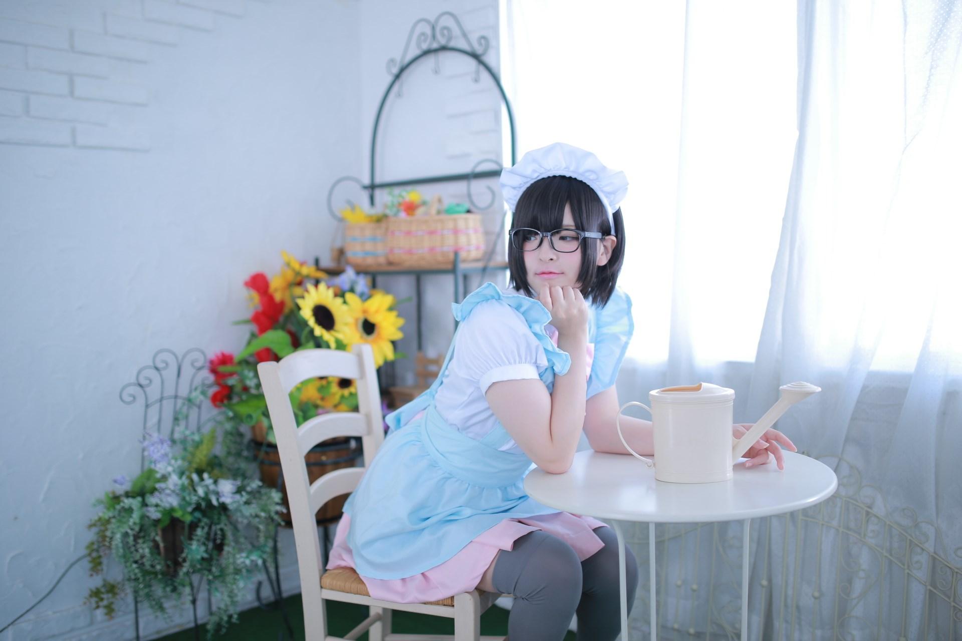 【兔玩映画】眼镜女仆 兔玩映画 第34张