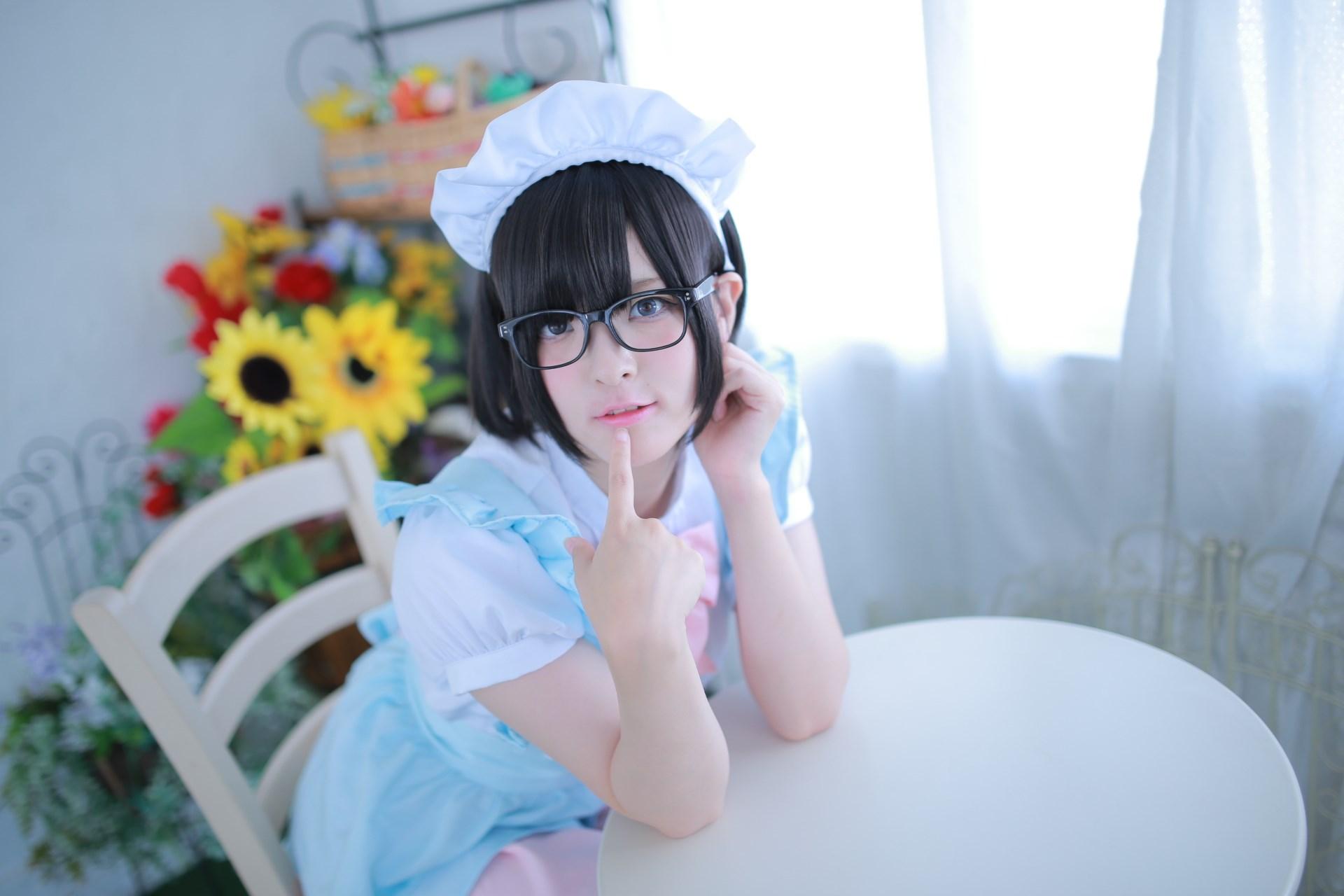 【兔玩映画】眼镜女仆 兔玩映画 第32张