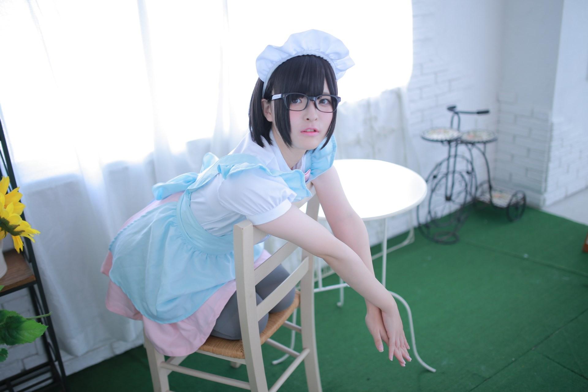 【兔玩映画】眼镜女仆 兔玩映画 第28张
