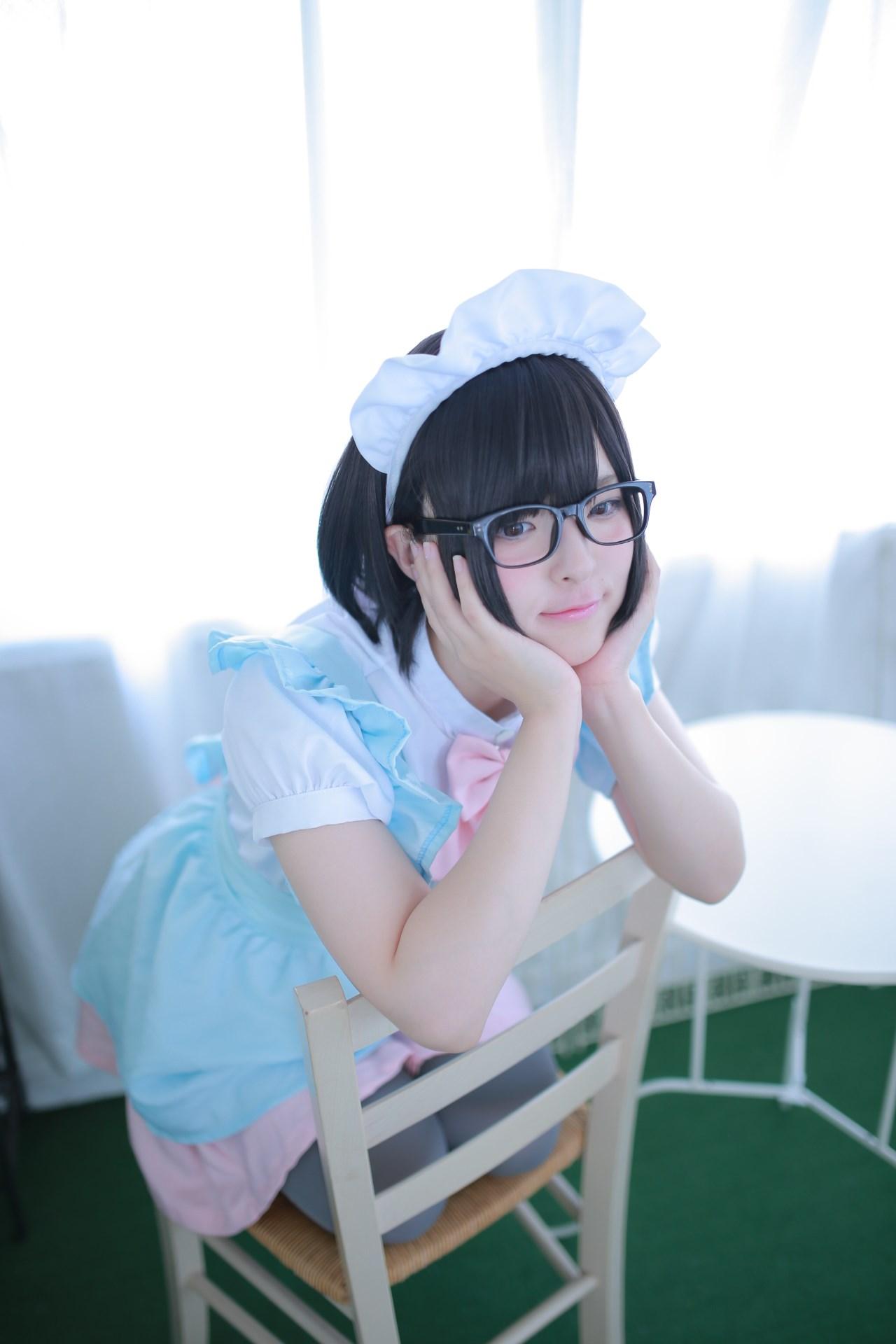 【兔玩映画】眼镜女仆 兔玩映画 第26张