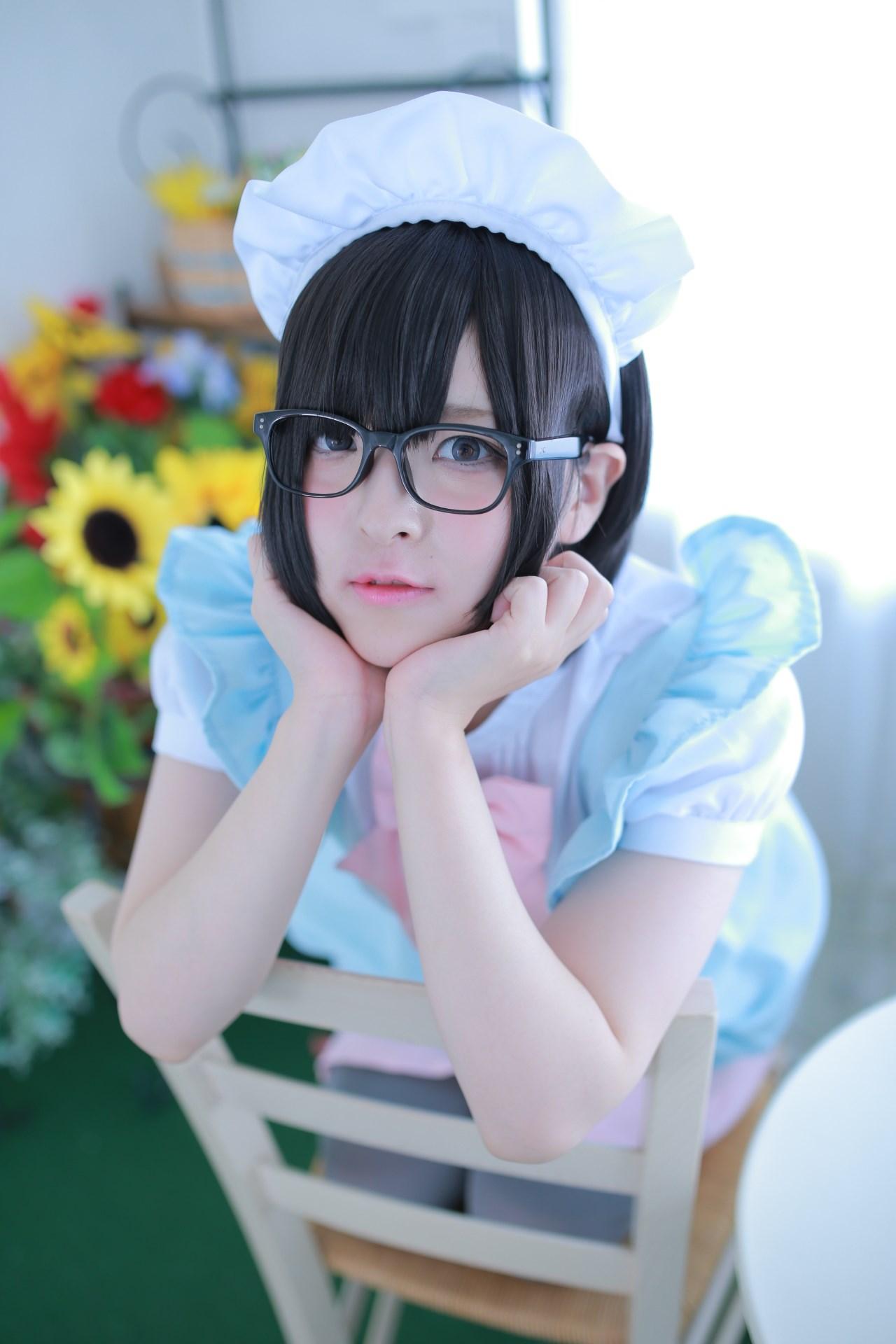 【兔玩映画】眼镜女仆 兔玩映画 第22张
