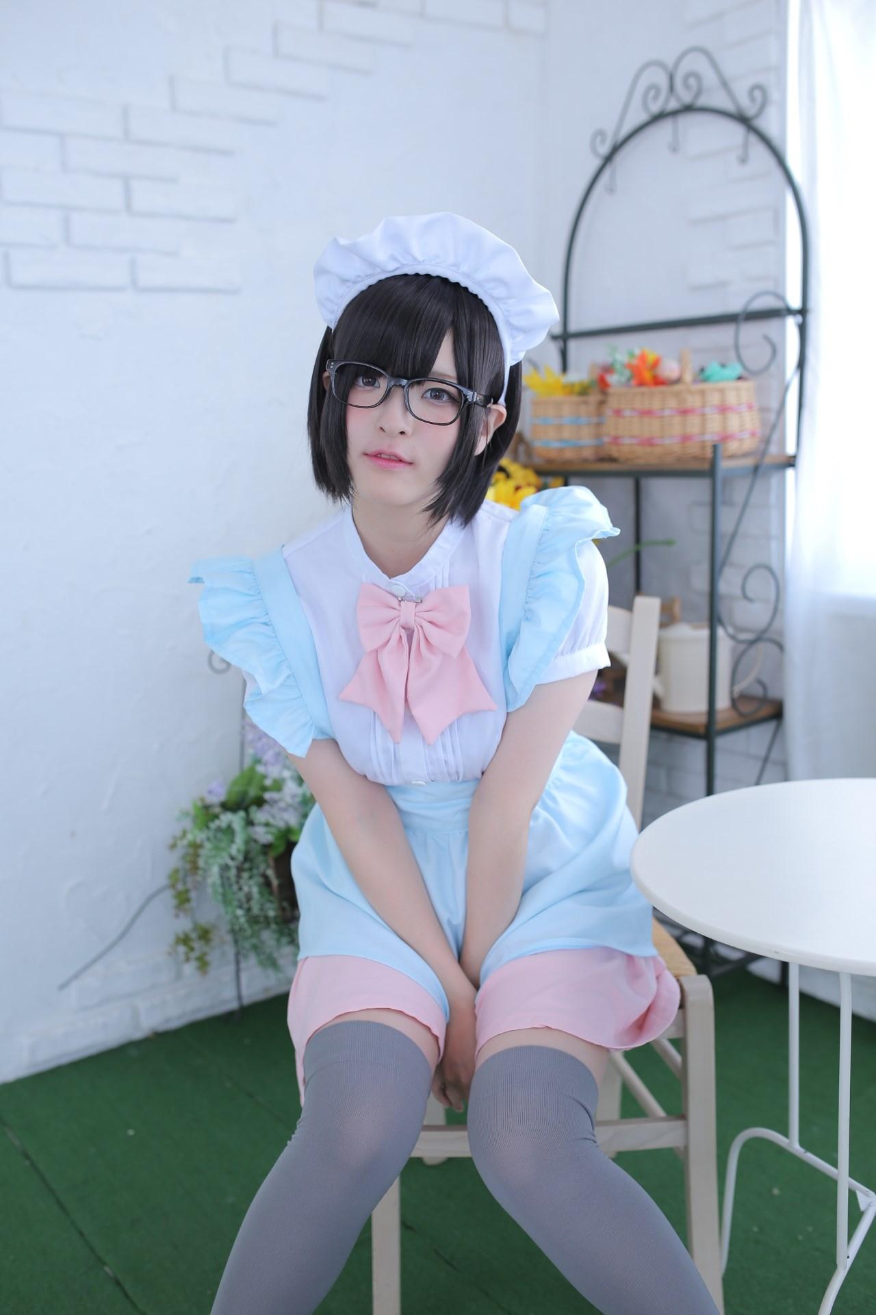 【兔玩映画】眼镜女仆 兔玩映画 第17张