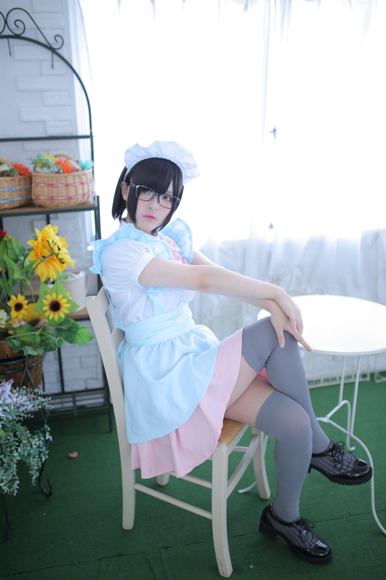 【兔玩映画】眼镜女仆 兔玩映画 第16张
