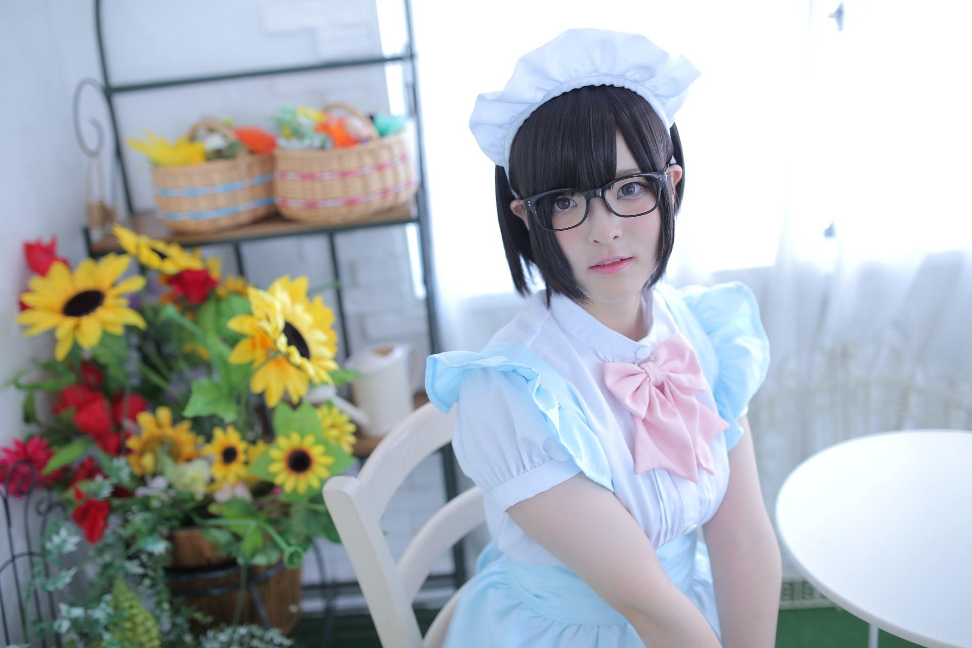 【兔玩映画】眼镜女仆 兔玩映画 第11张