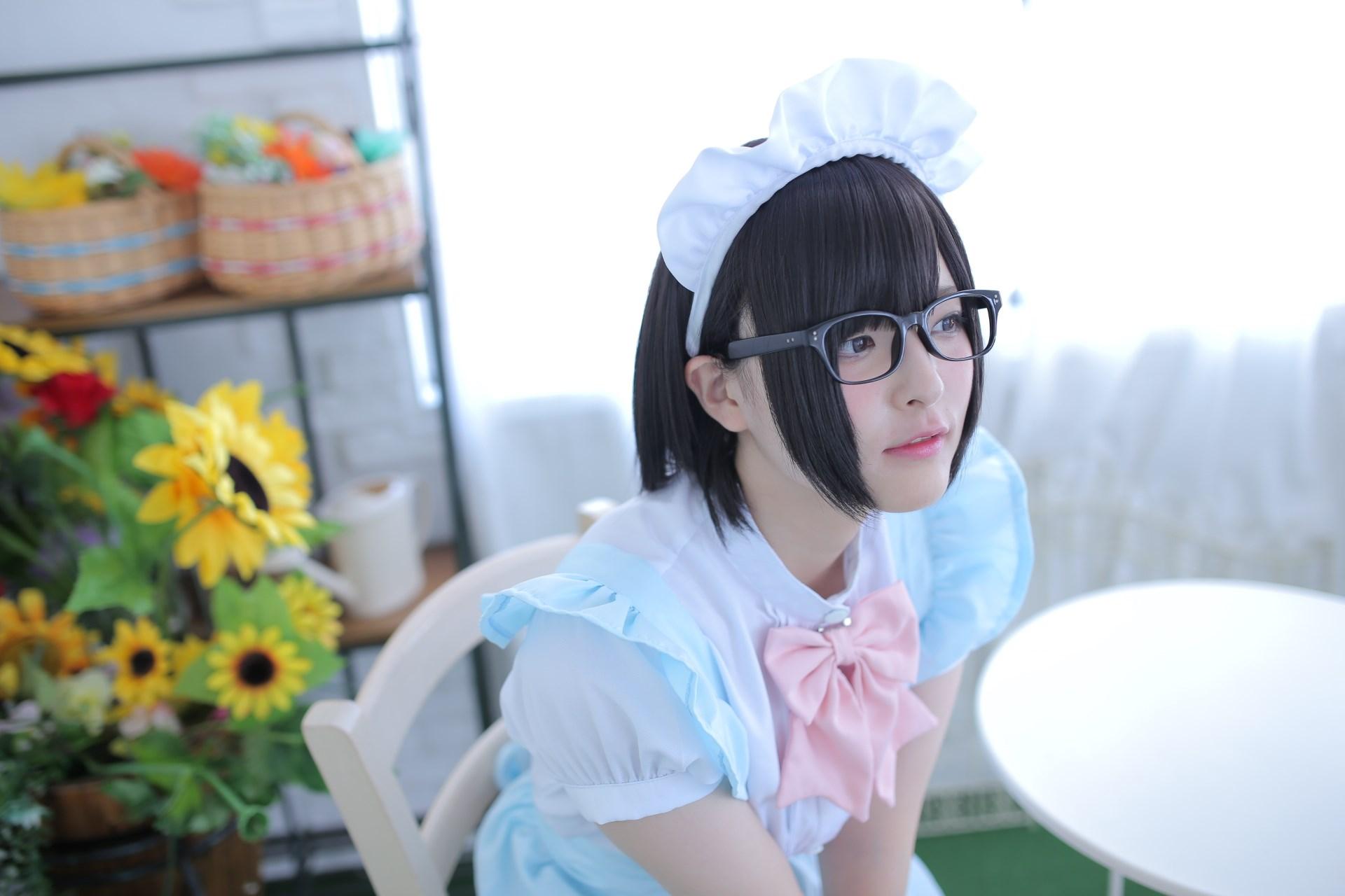 【兔玩映画】眼镜女仆 兔玩映画 第10张