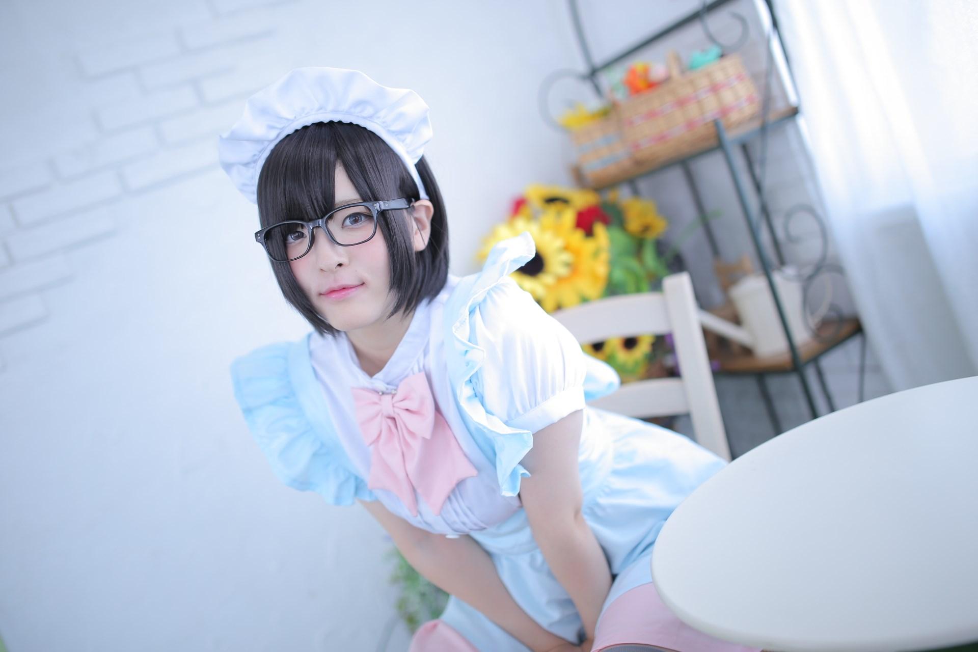 【兔玩映画】眼镜女仆 兔玩映画 第8张