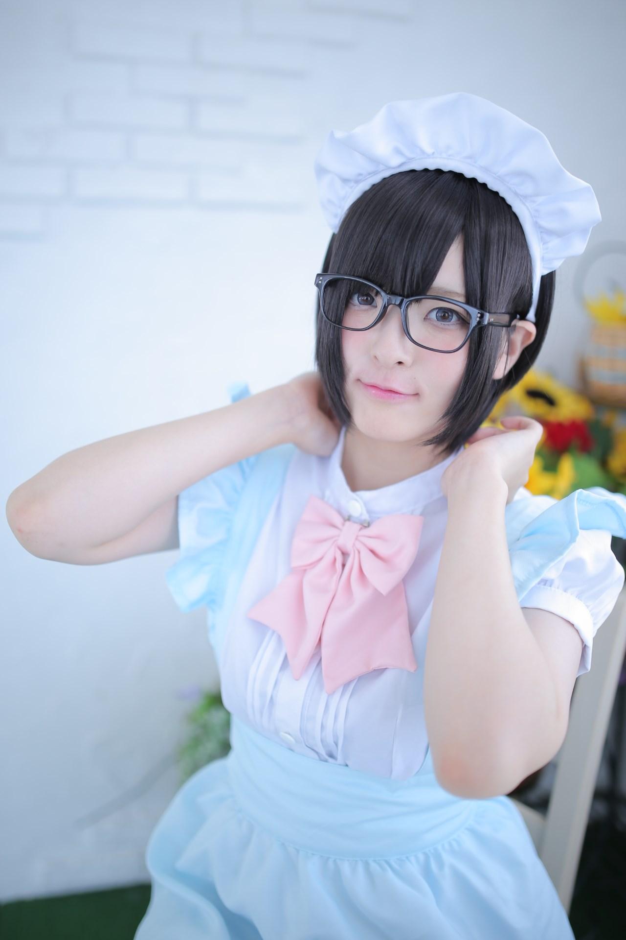 【兔玩映画】眼镜女仆 兔玩映画 第7张