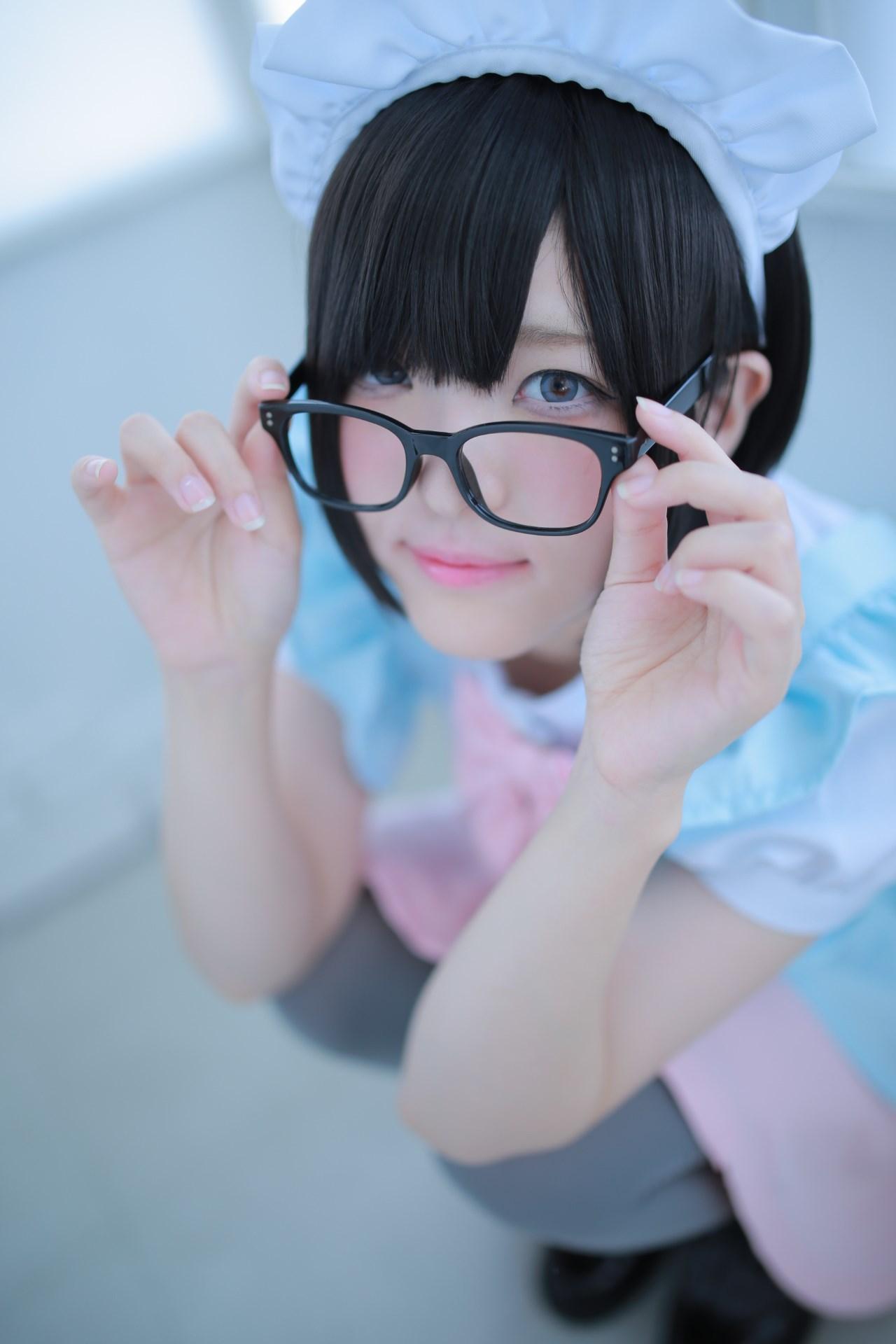【兔玩映画】眼镜女仆 兔玩映画 第5张
