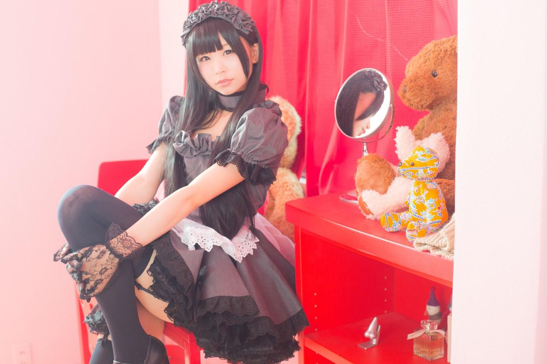 【兔玩映画】黑丝女仆 兔玩映画 第40张
